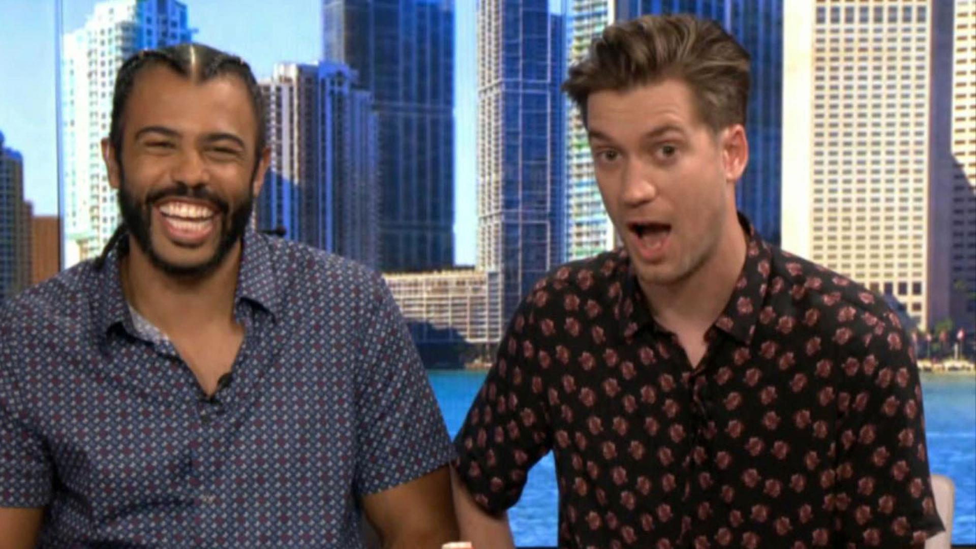 Joy Reid interviews co-writers and stars of new movie 'Blindspotting'