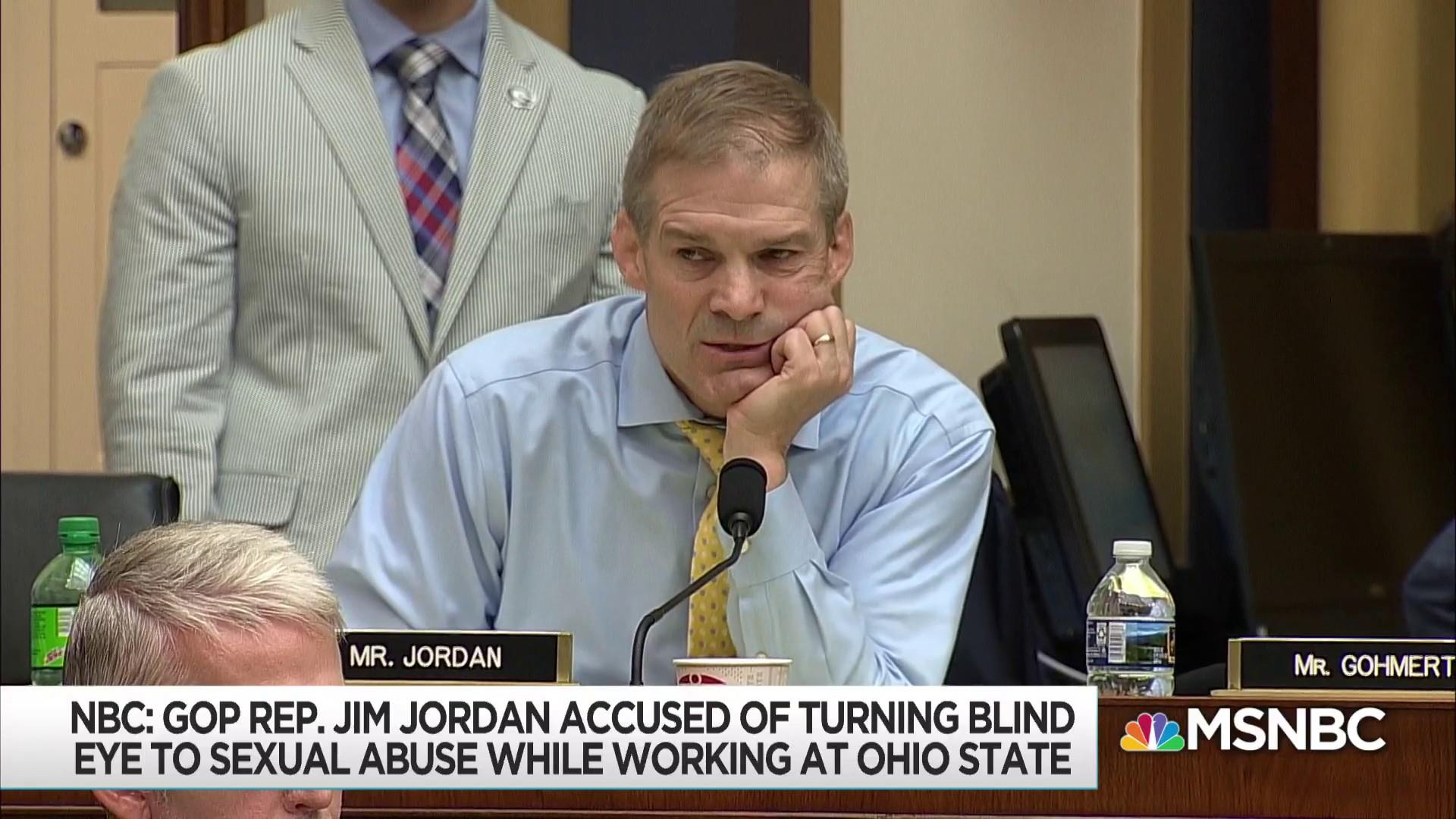 GOP Rep. Jim Jordan accused of ignoring sexual abuse of wrestlers