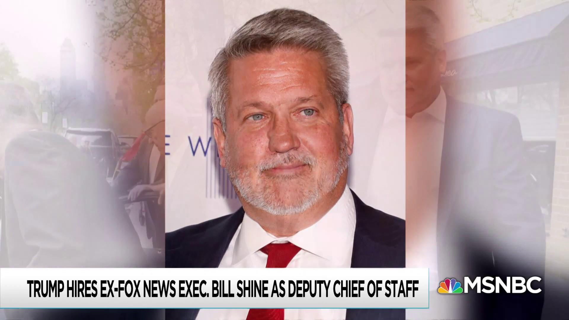 Fired from Fox News over sex harassment cover-up, hired by Trump