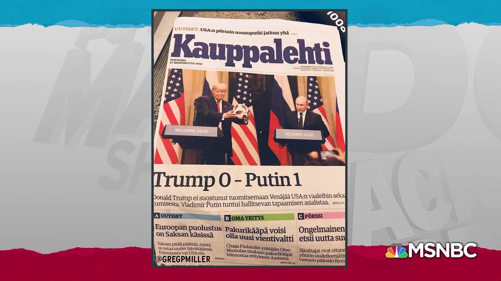 World struggles to understand Trump weakness before Putin