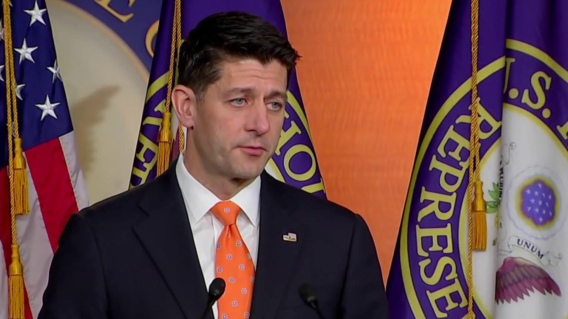 Speaker Ryan says he doesn't support Rosenstein's impeachment