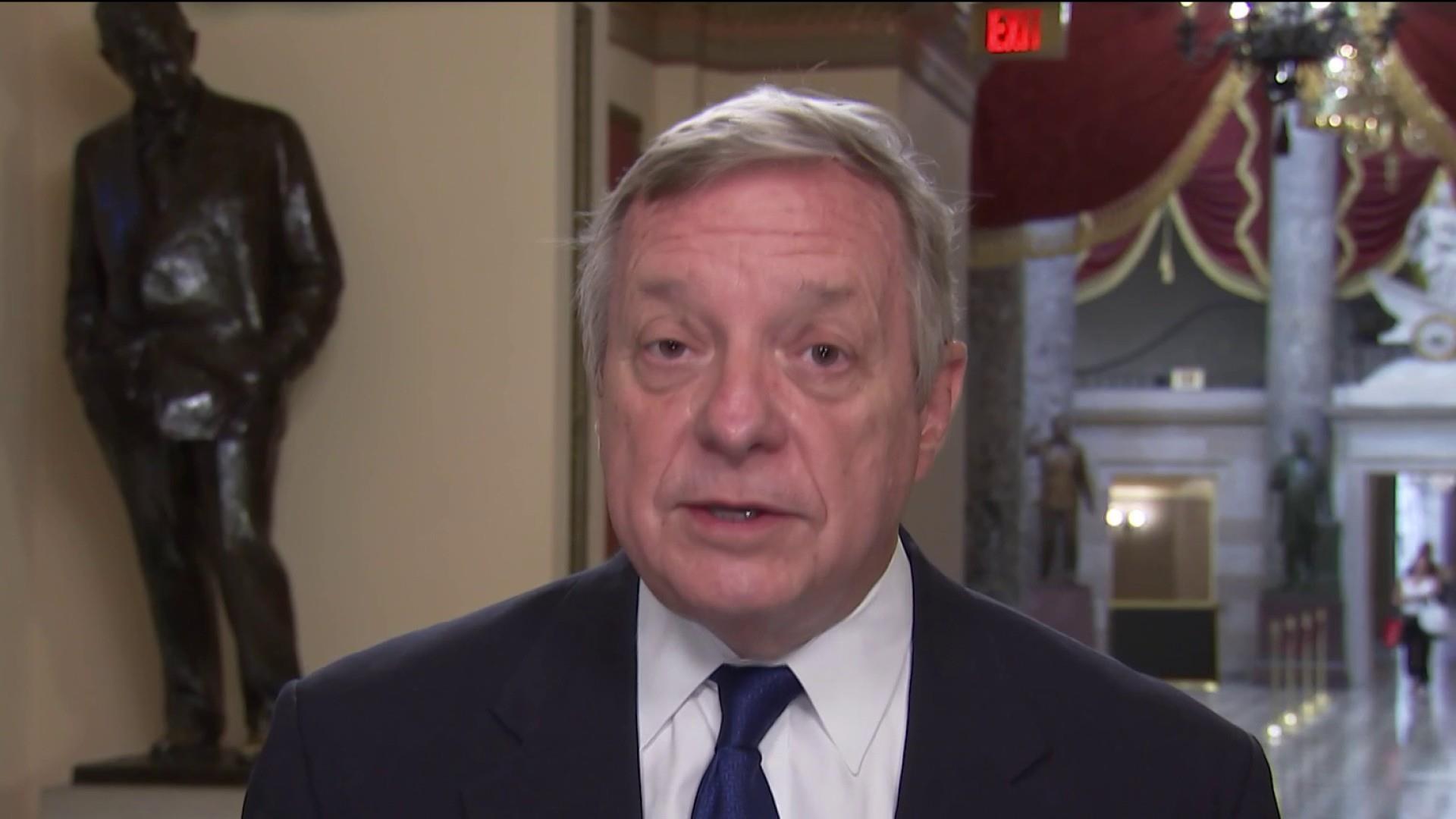 Sen. Durbin on Trump, Russia and the migrant crisis