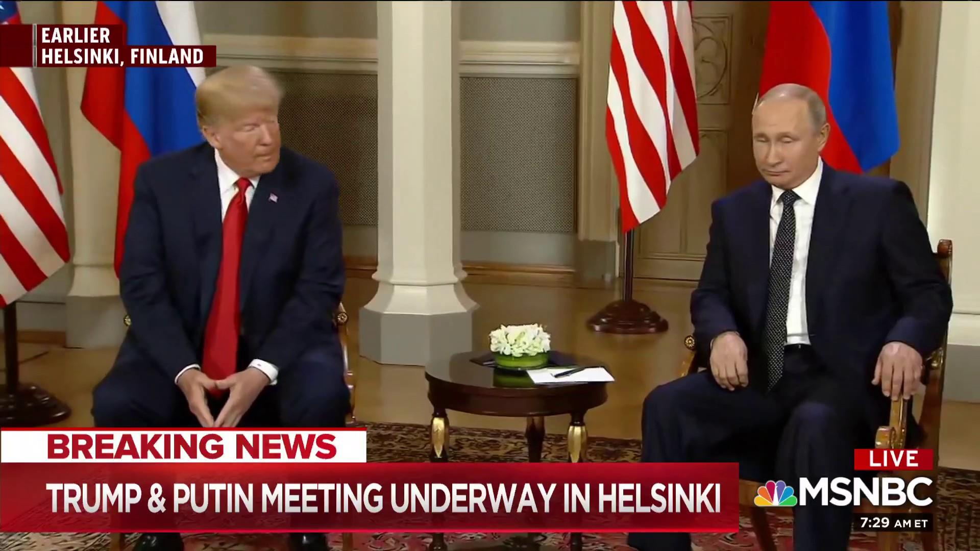 Image result for photos of trump russia helsinki meeting