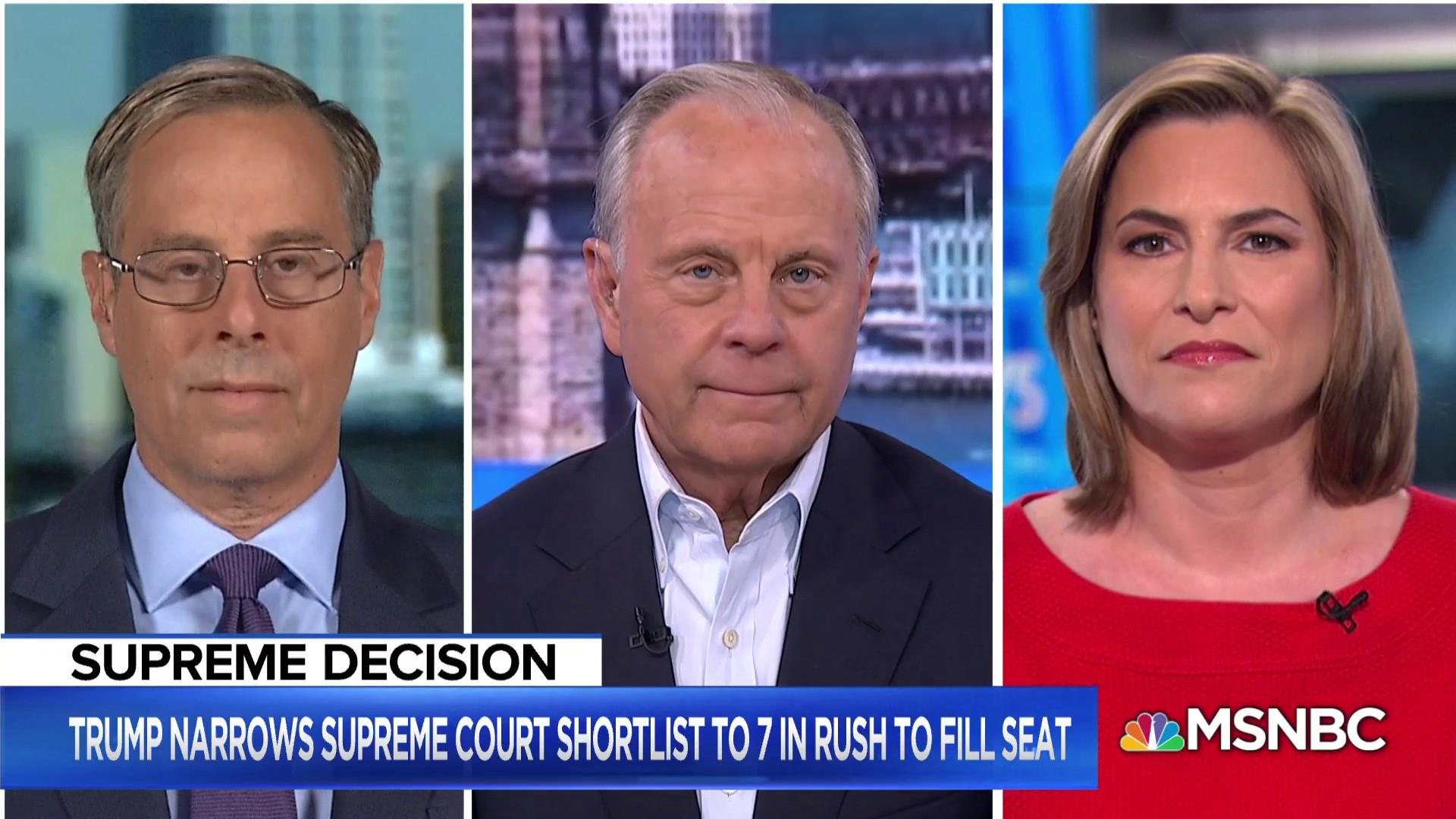 A closer look into Trump's Supreme Court shortlist