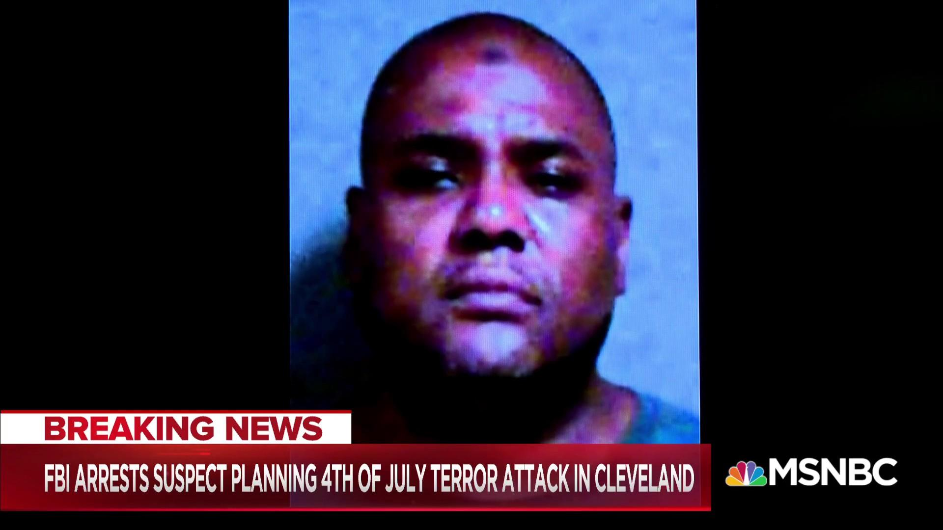 FBI: Arrest made in Cleveland in potential July 4th terror plot