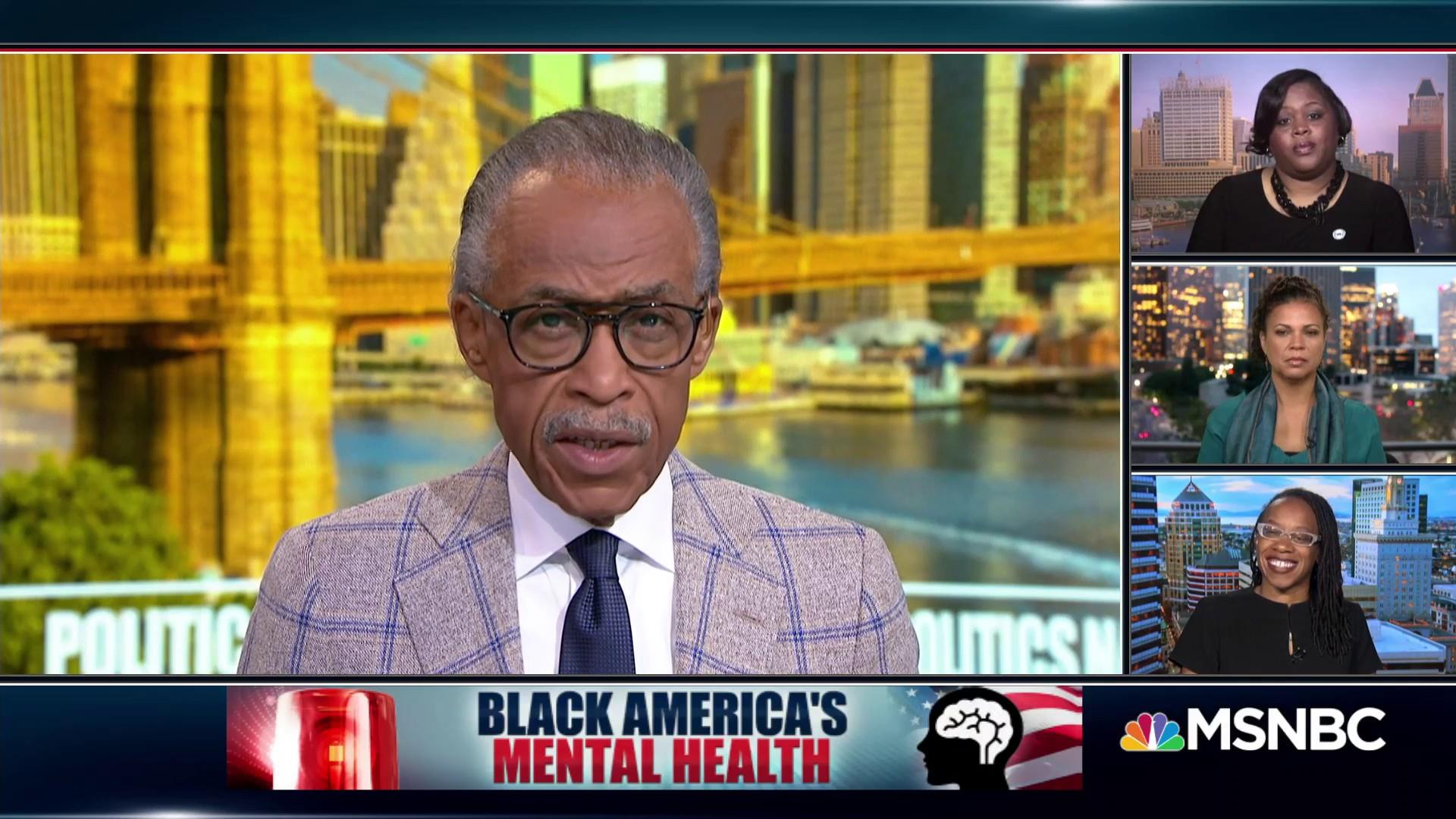 Image result for black america's mental health al sharpton