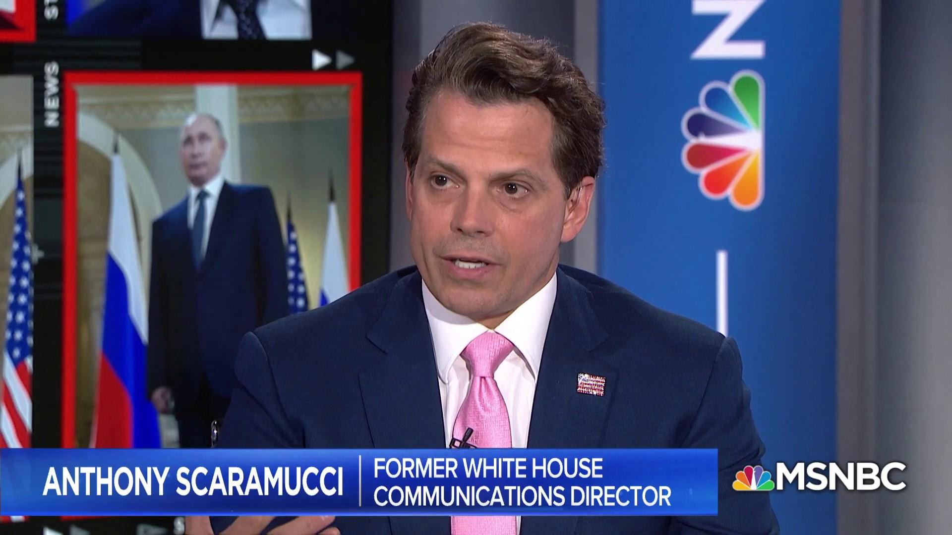 Scaramucci: Trump wants to find a way to get along with Russia