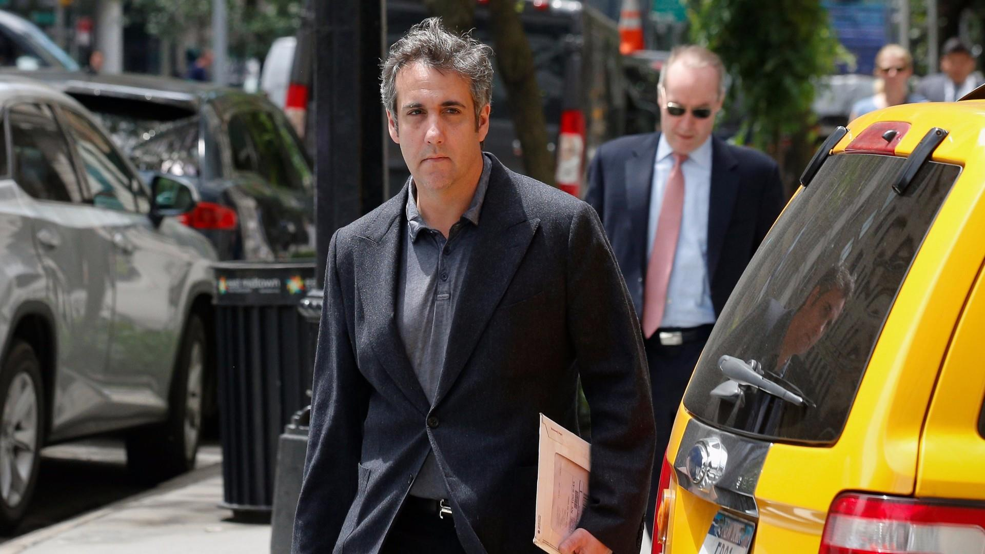 12 Cohen audio tapes released to federal investigators