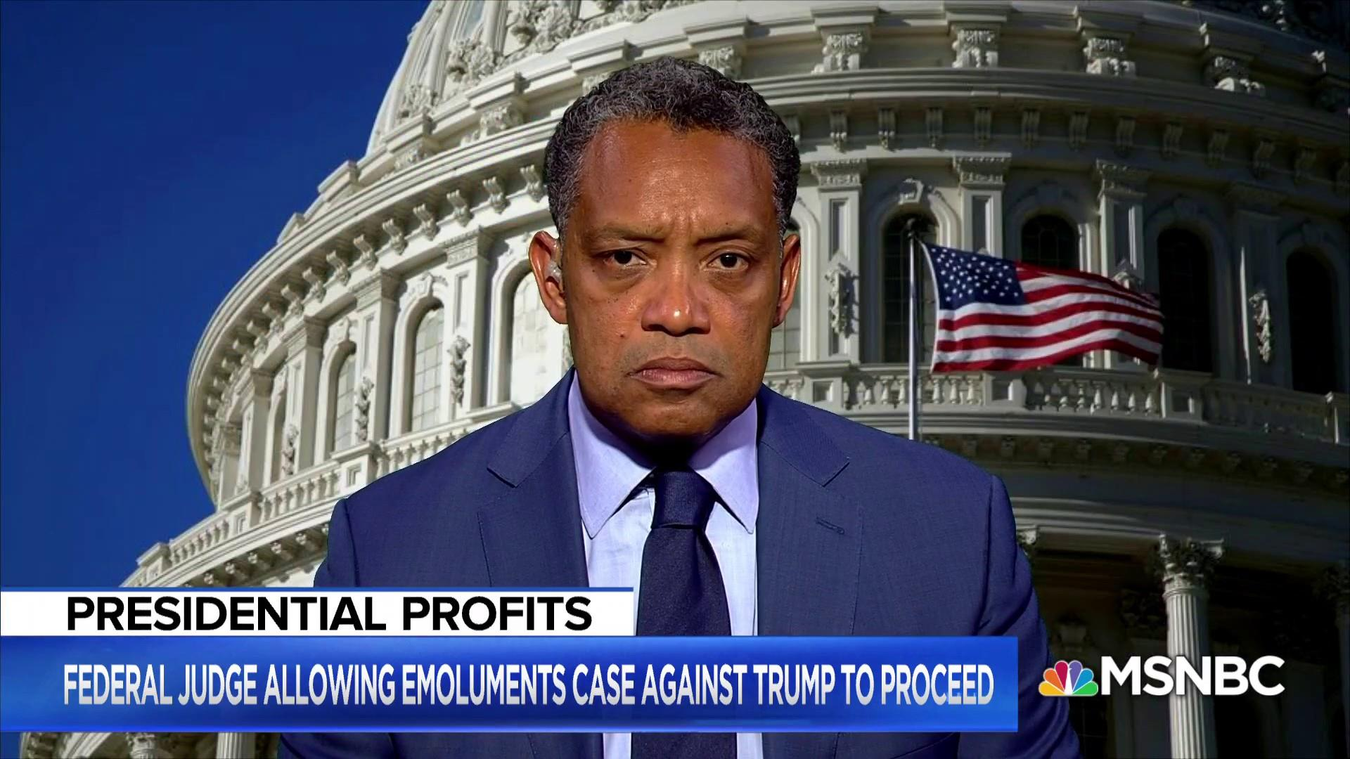 EXCLUSIVE: DC AG on court's green light for Trump emoluments lawsuit