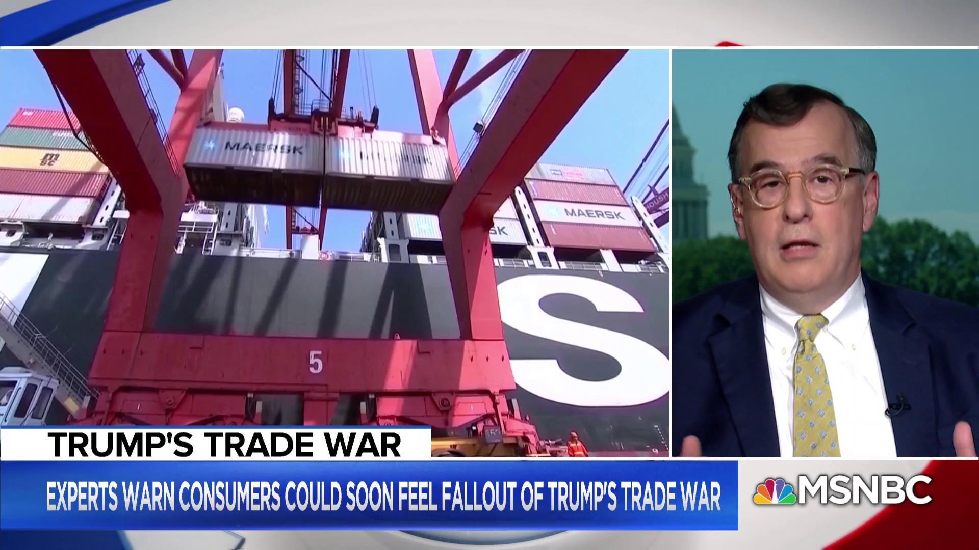 President Trump's trade war might not hurt him politically
