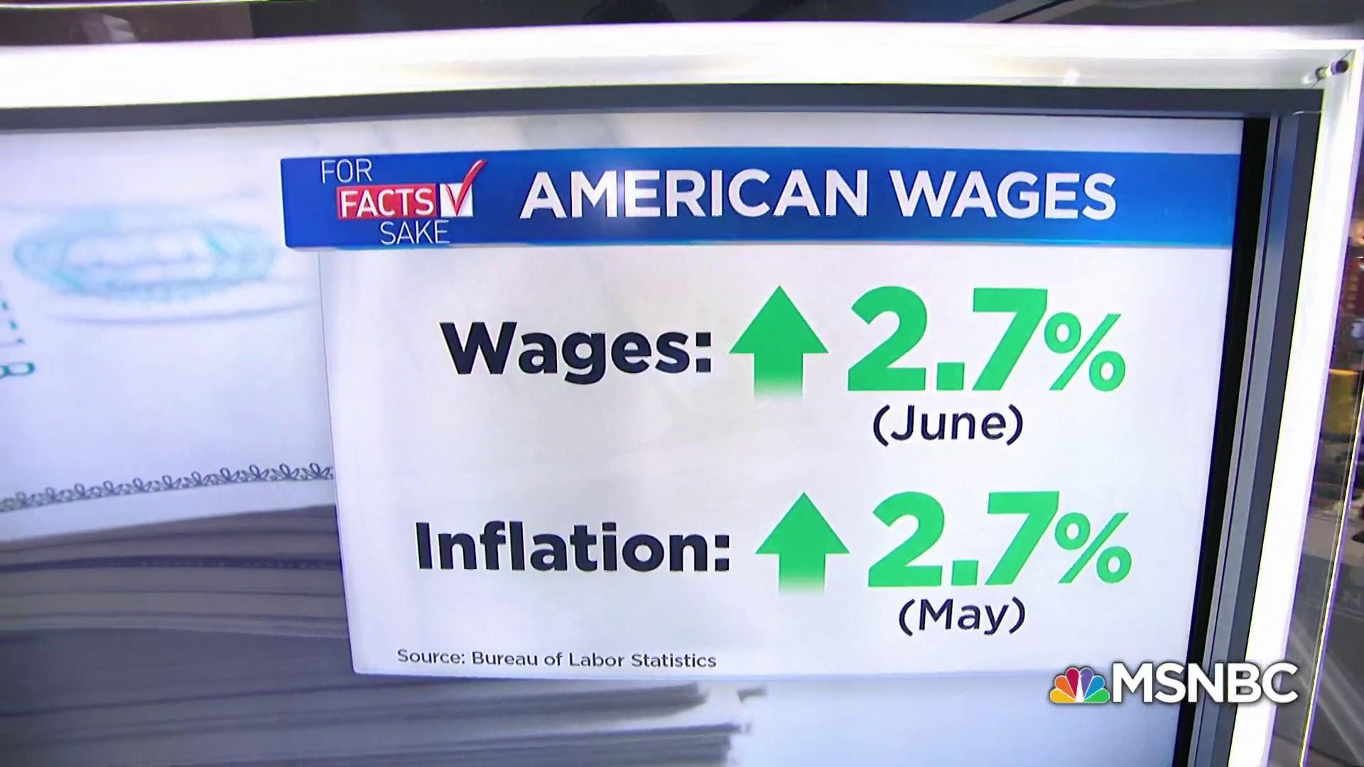 For Fact's Sake: Wage growth needs to outpace inflation rate
