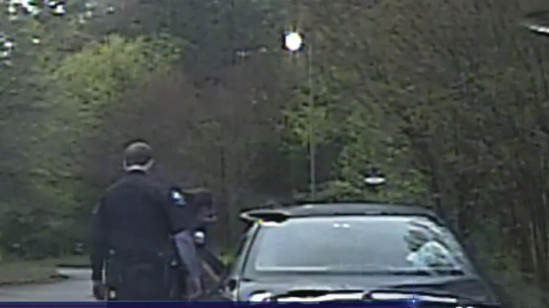 Georgia officers terminated after caught on camera using coin-toss app to determine arrest
