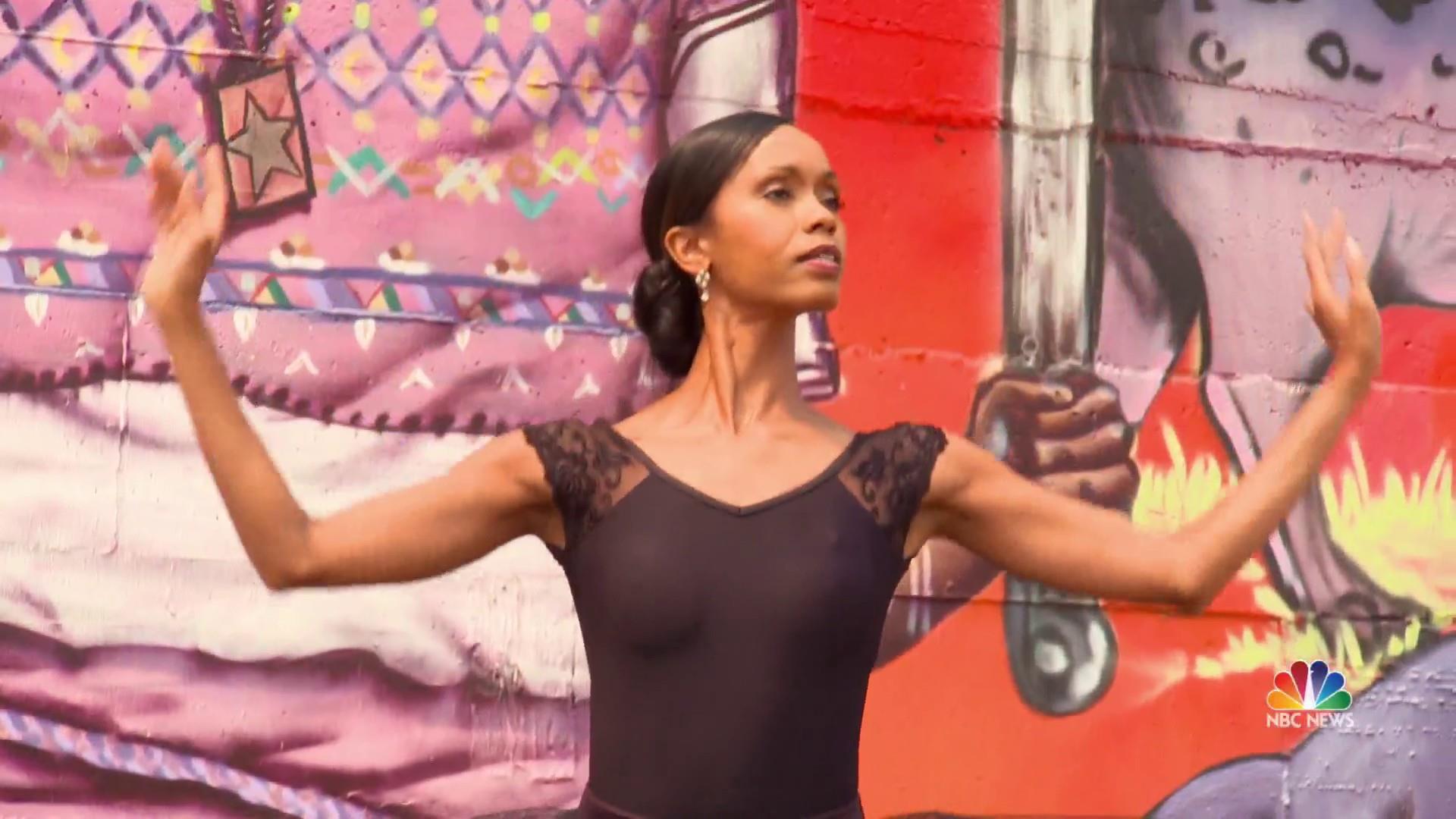 African-American ballerina breaks barriers with Swan Dreams