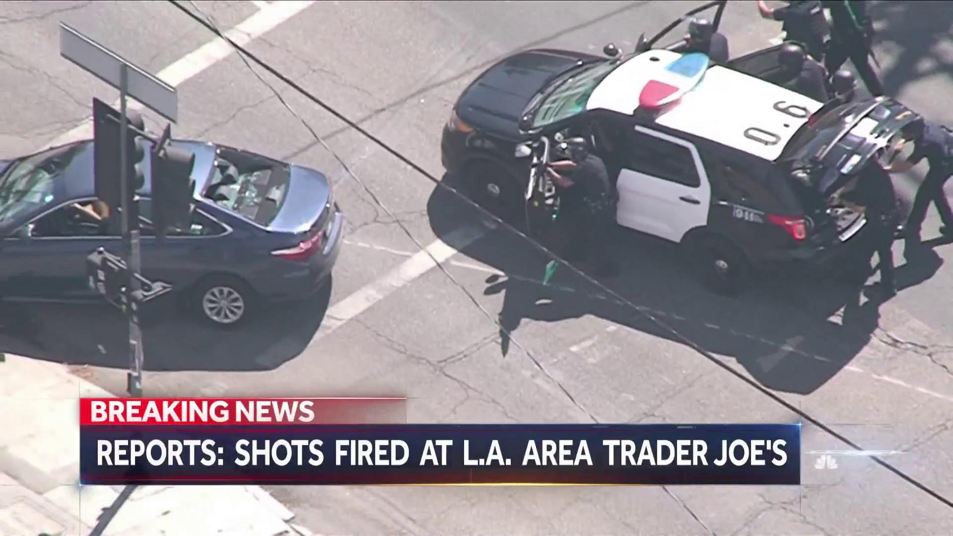 Shots fired at Trader Joe\'s in Los Angeles