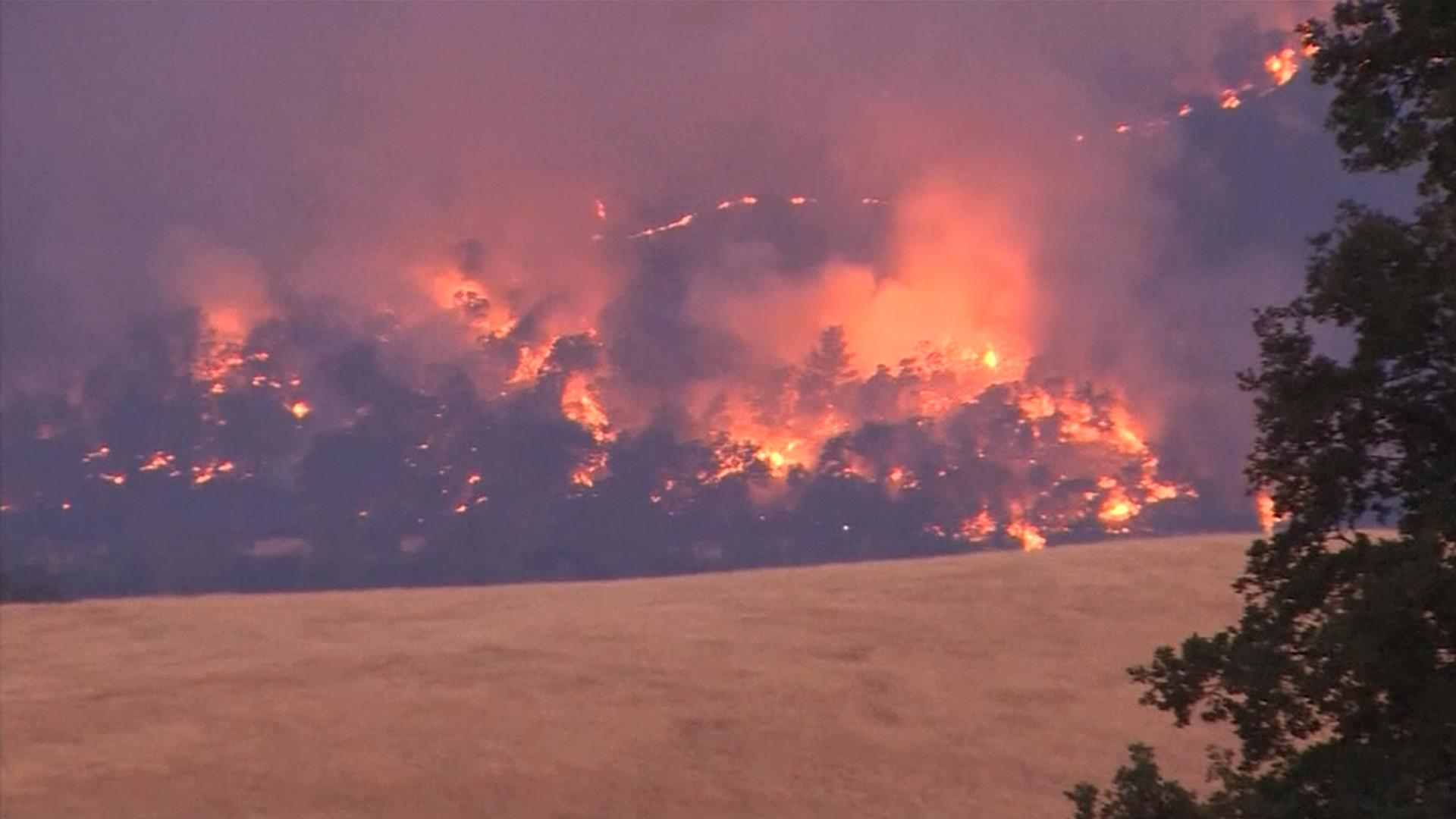 northern california fires growing, evacuations ordered - nbc