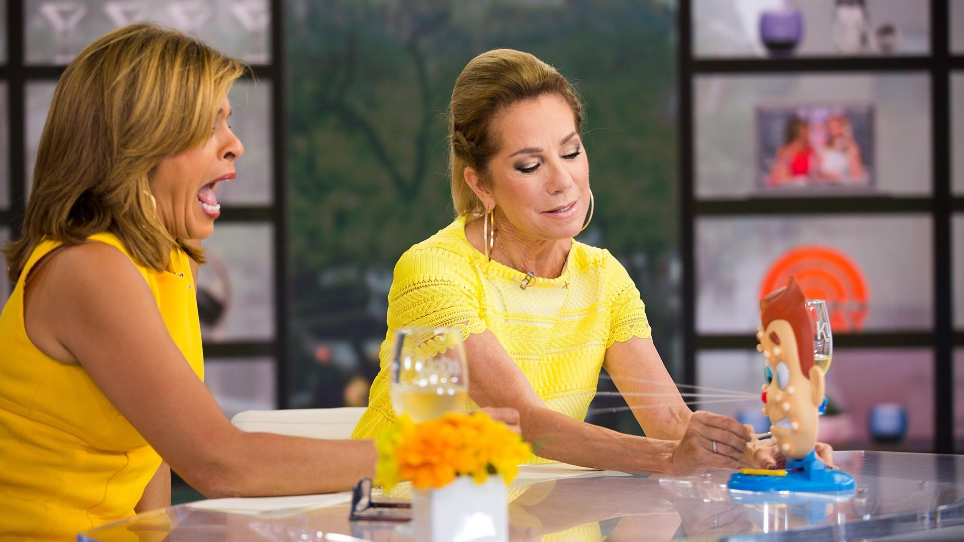 KLG and Hoda try out Dr  Pimple Popper's new game: Pimple Pete