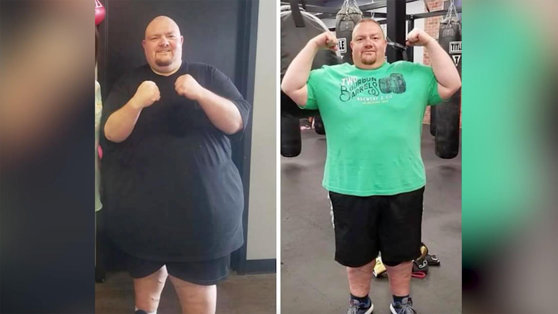How this man lost 250 pounds in 15 months