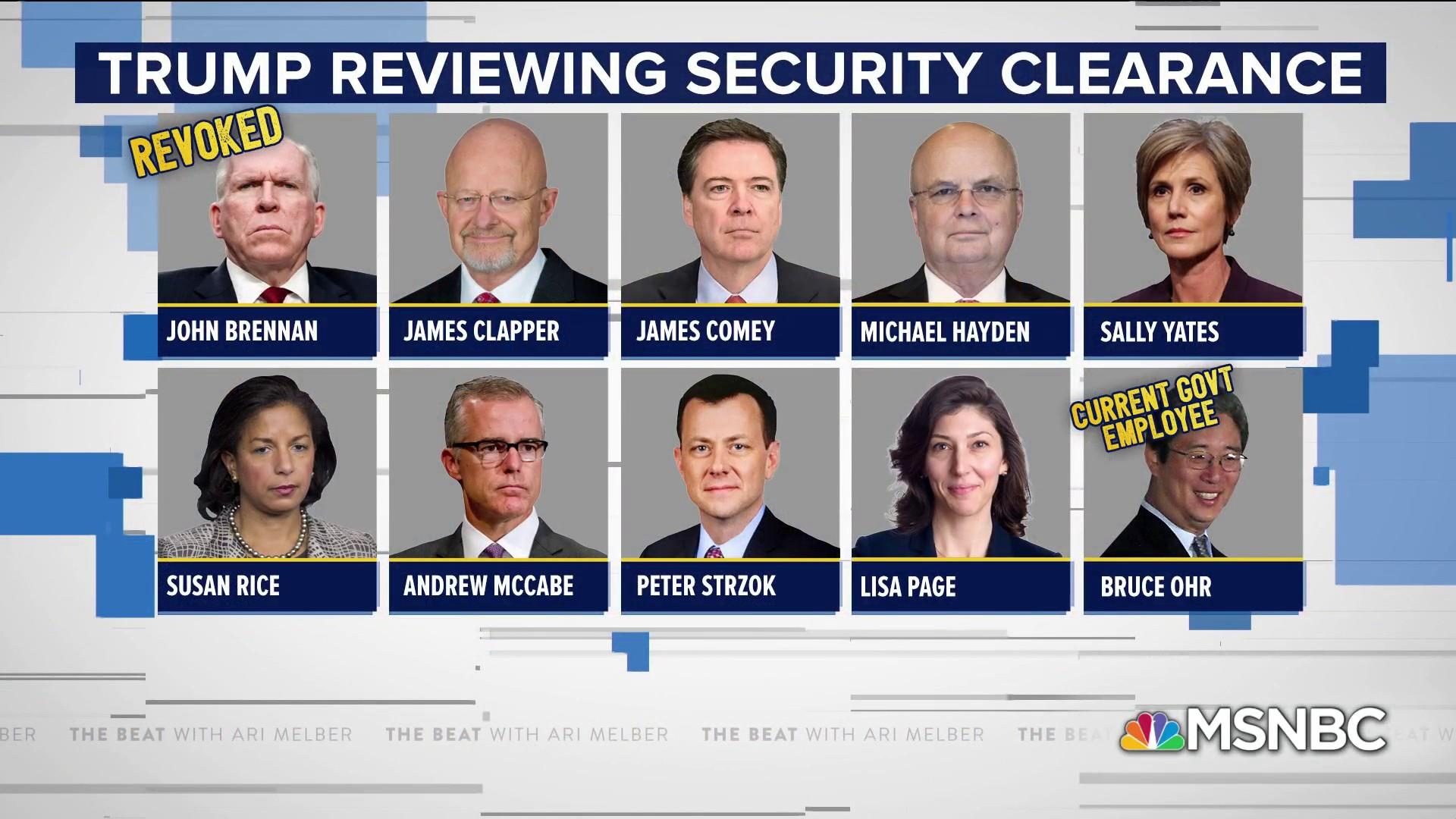 Evelyn Farkas: Trump is weaponizing security clearances
