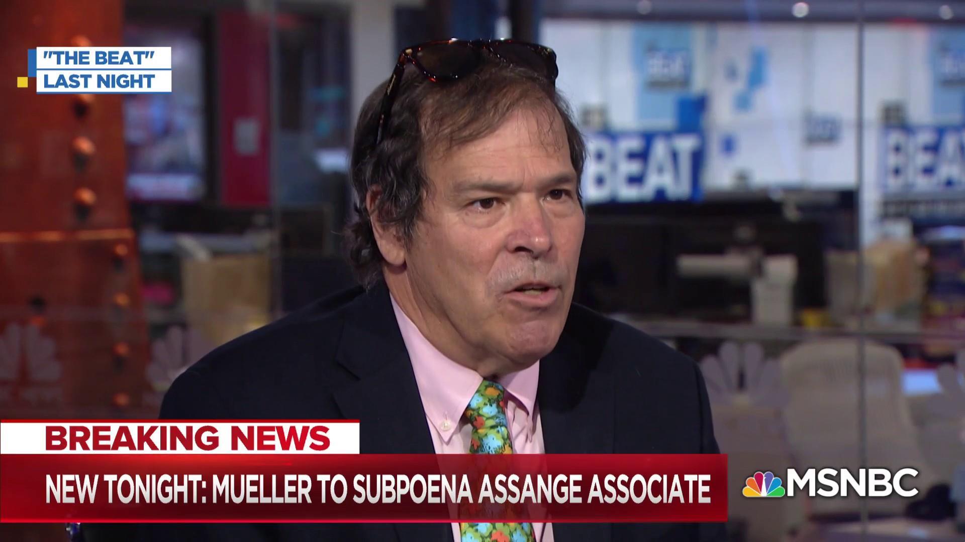 Mueller plans to subpoena Julian Assange associate in Russia probe
