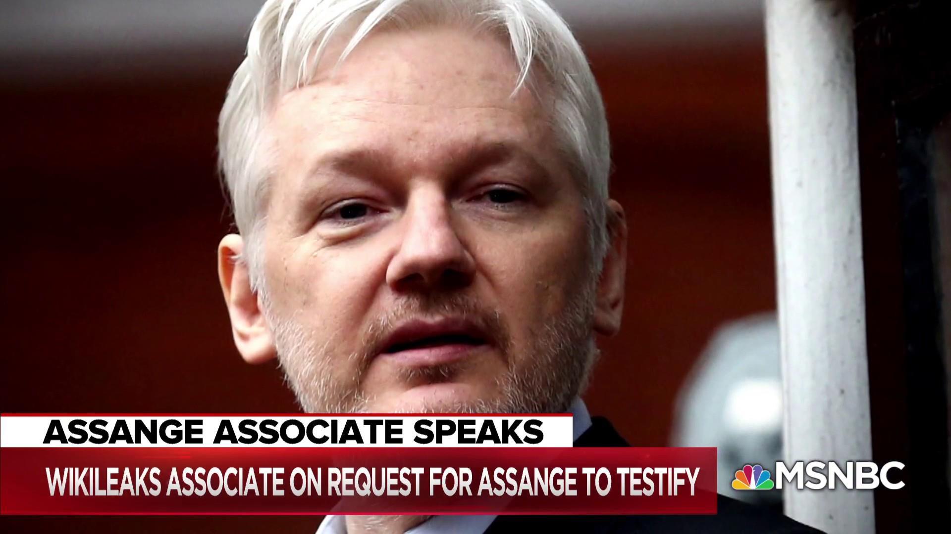 Assange associate: Mueller team asked for 'a voluntary interview'