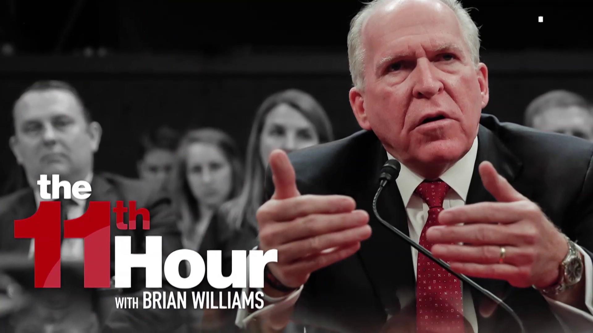 Trump: Brennan was worst CIA director ever, & I hope he sues me