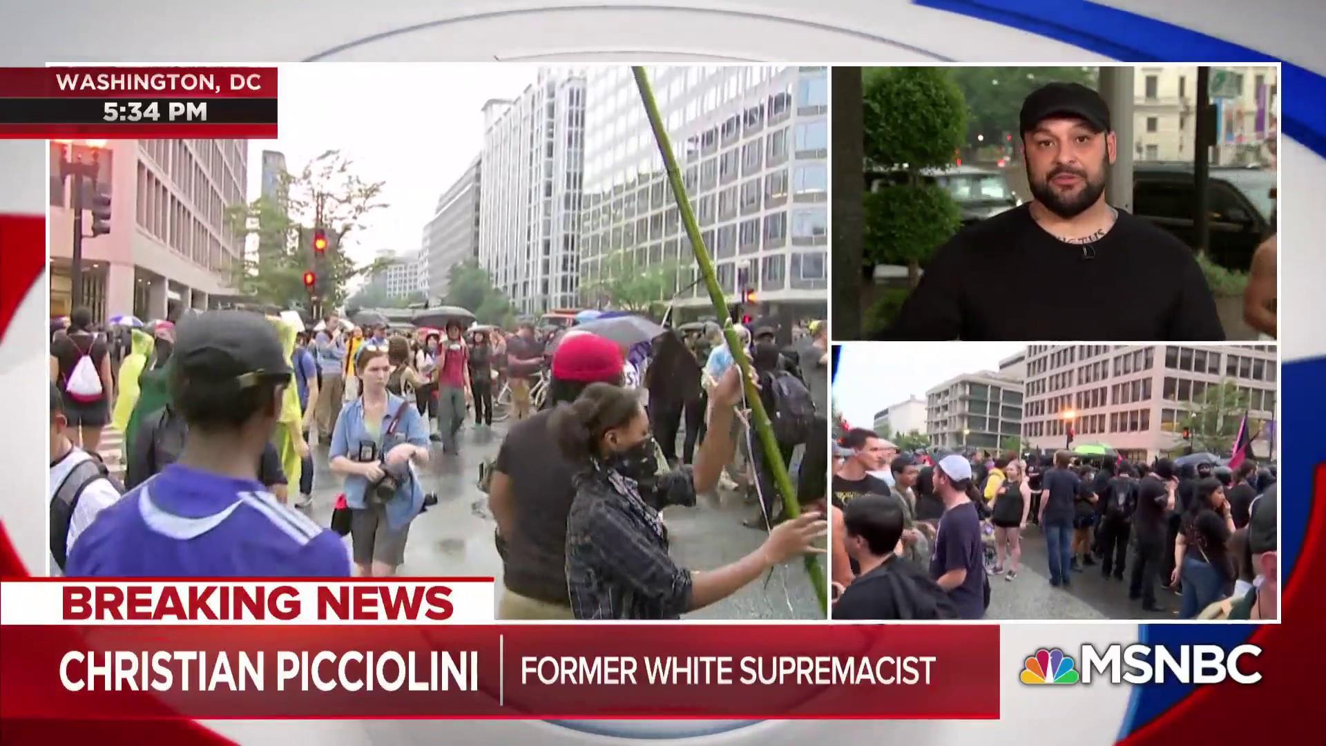 Fmr White Supremacist: Charlottesville protest leads went 'underground'