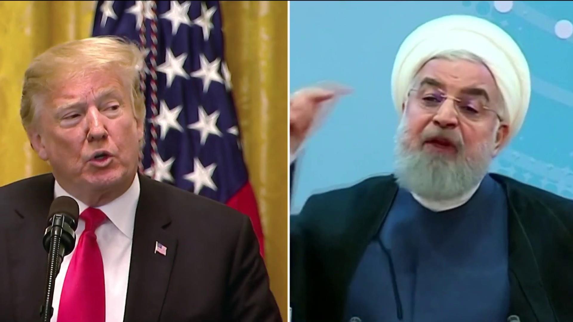 Trump re-imposing trade sanctions on Iran