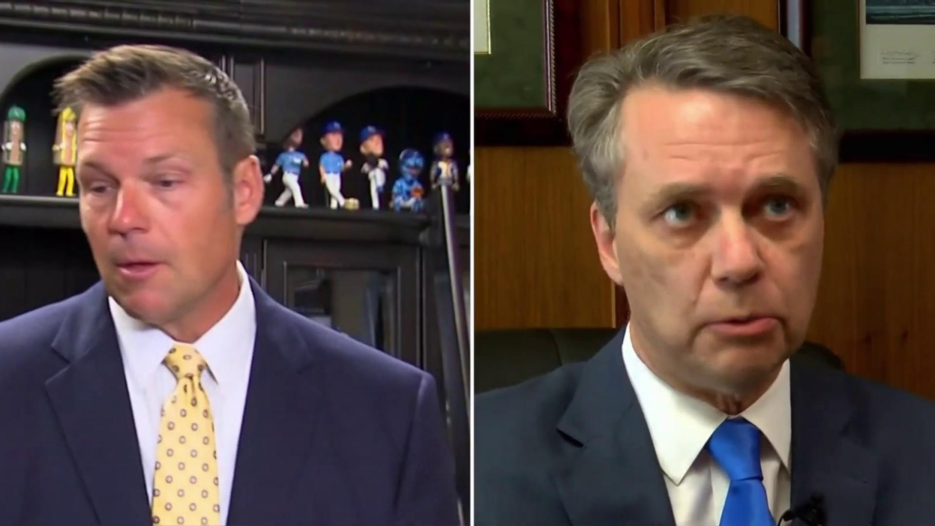 Kobach recuses himself from Kansas Governor recount