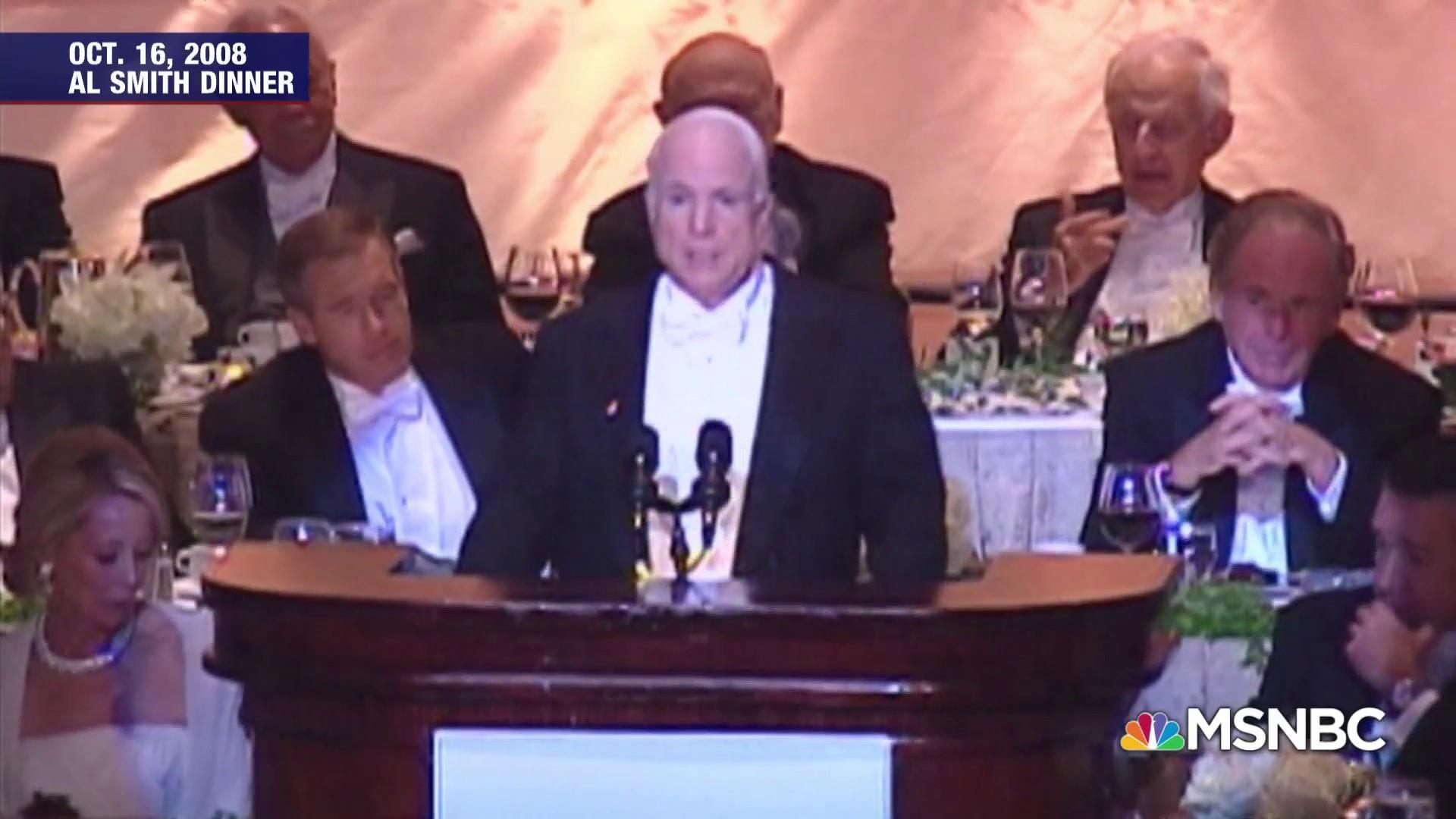 Matthews: Senator McCain is a role model