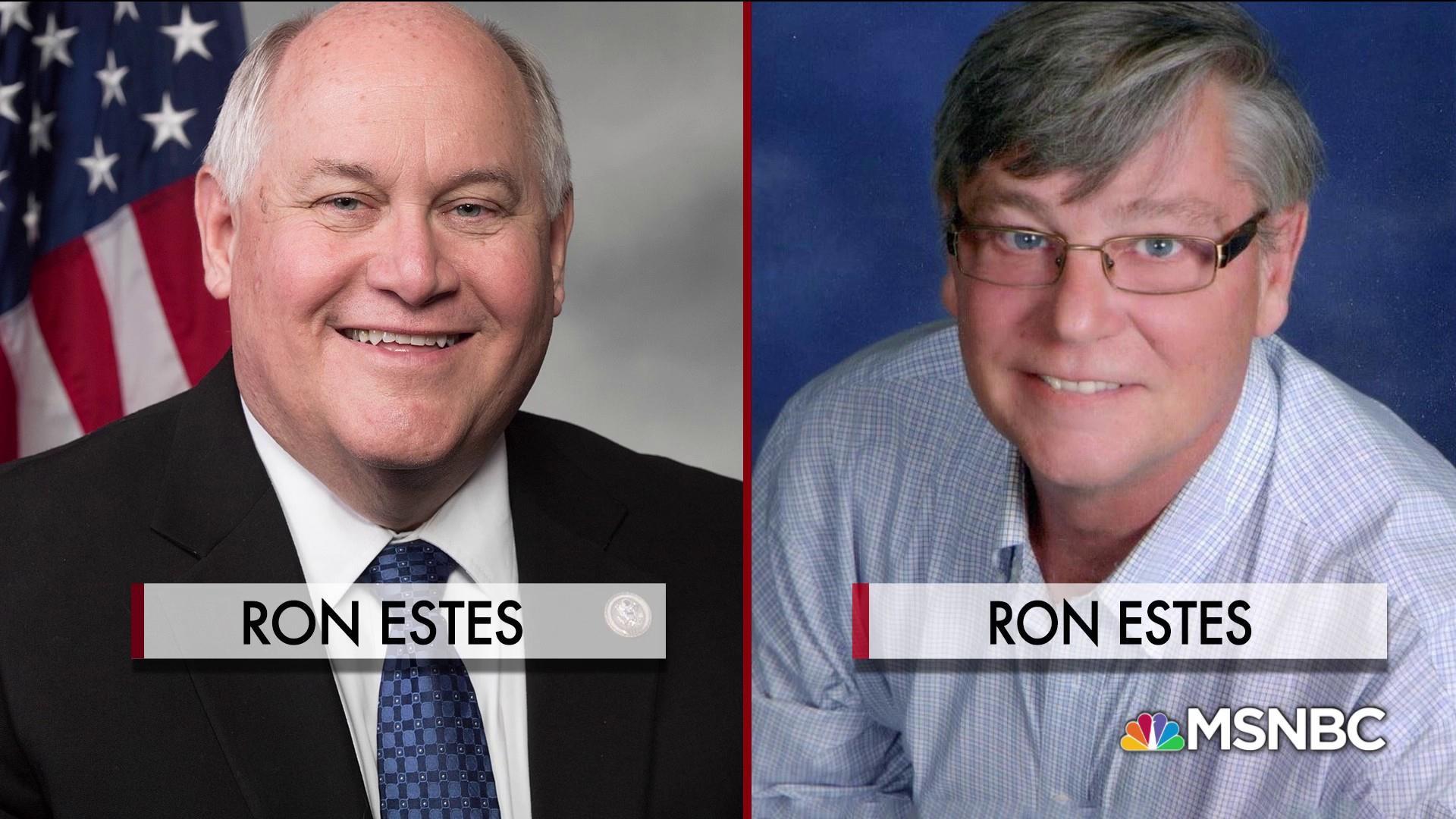 Ron Estes faces off against Ron Estes in Kansas