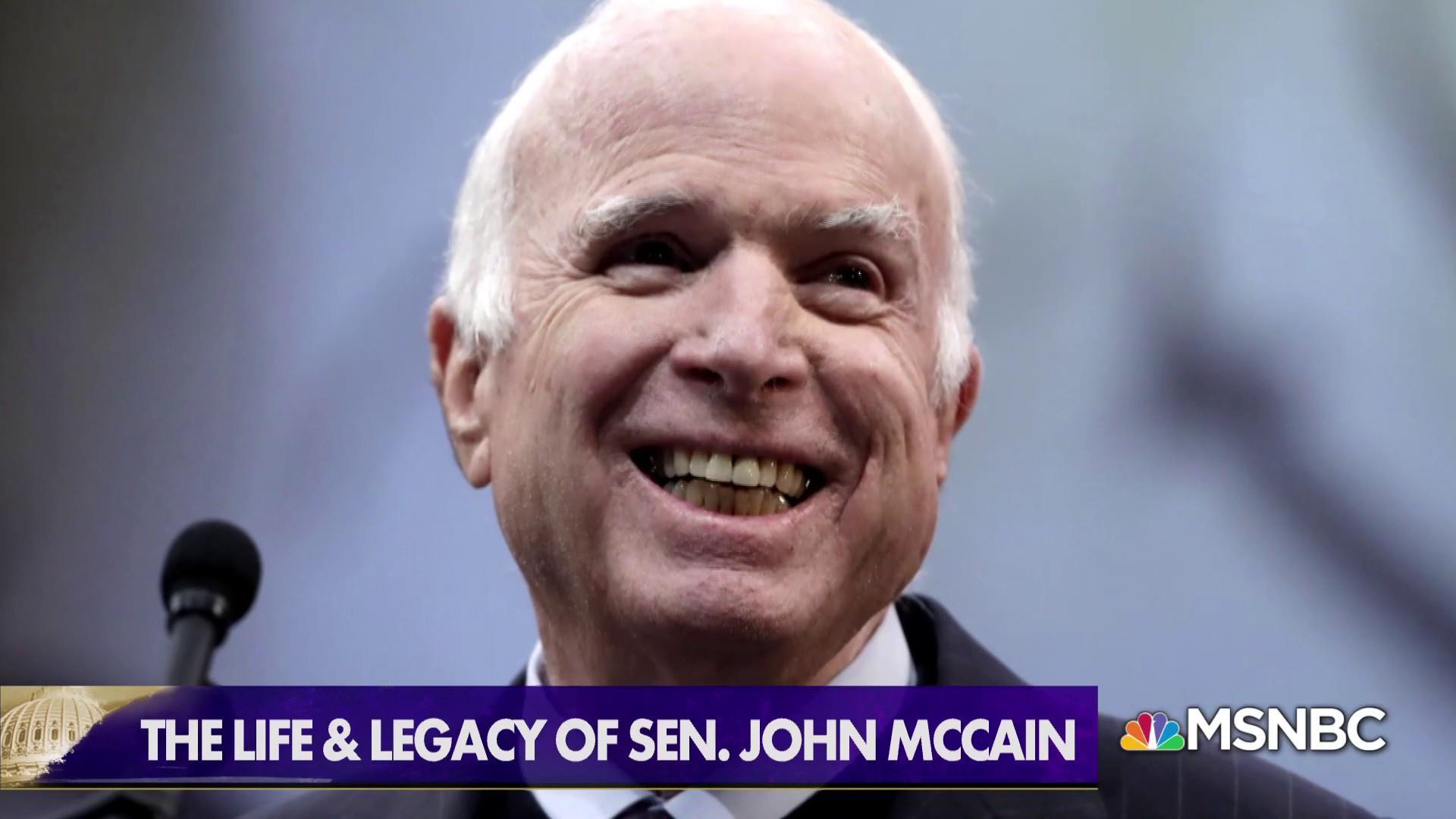 Honoring the life and legacy of Sen. John McCain