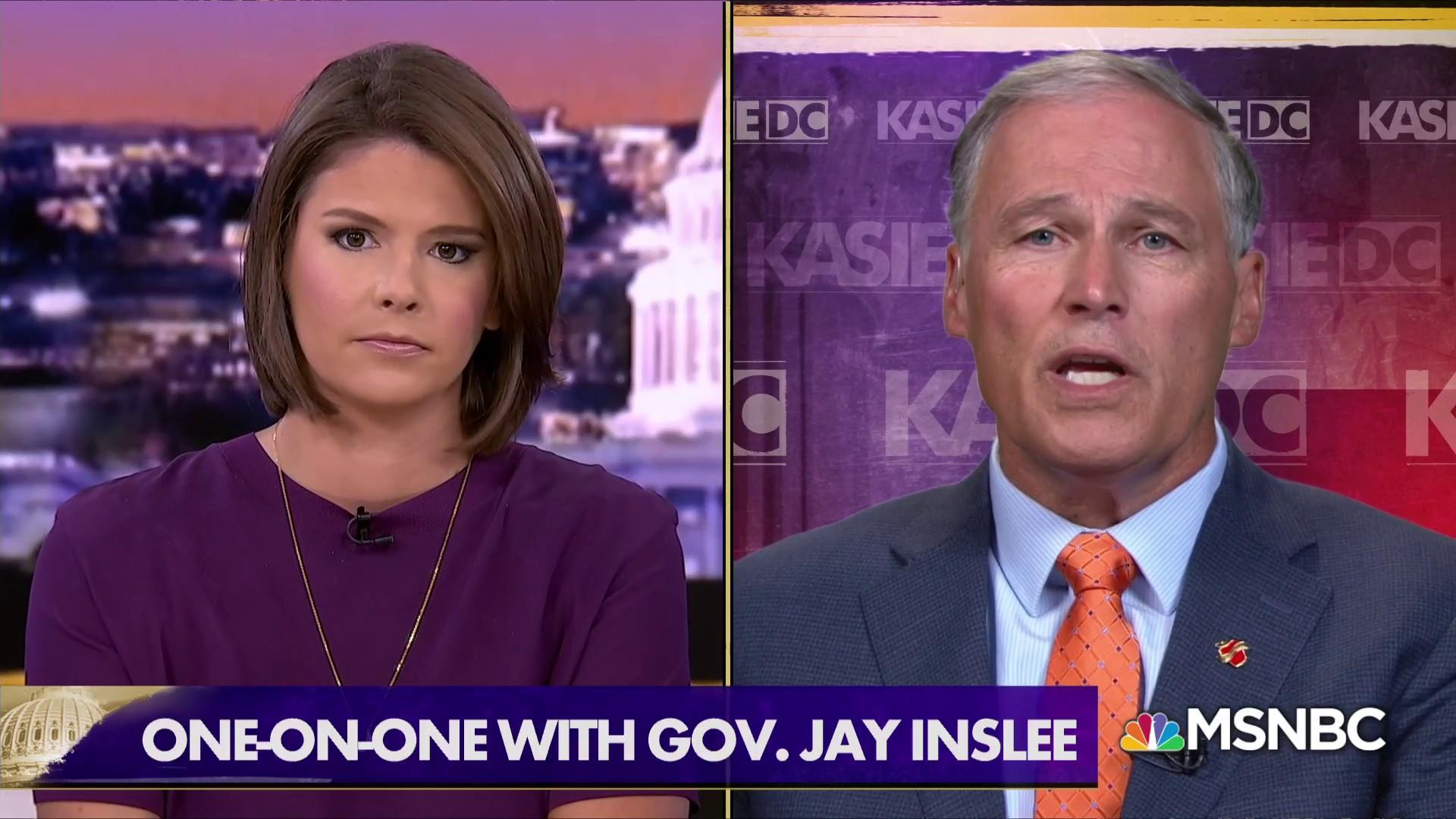 Gov. Inslee won't rule out a run for president in 2020
