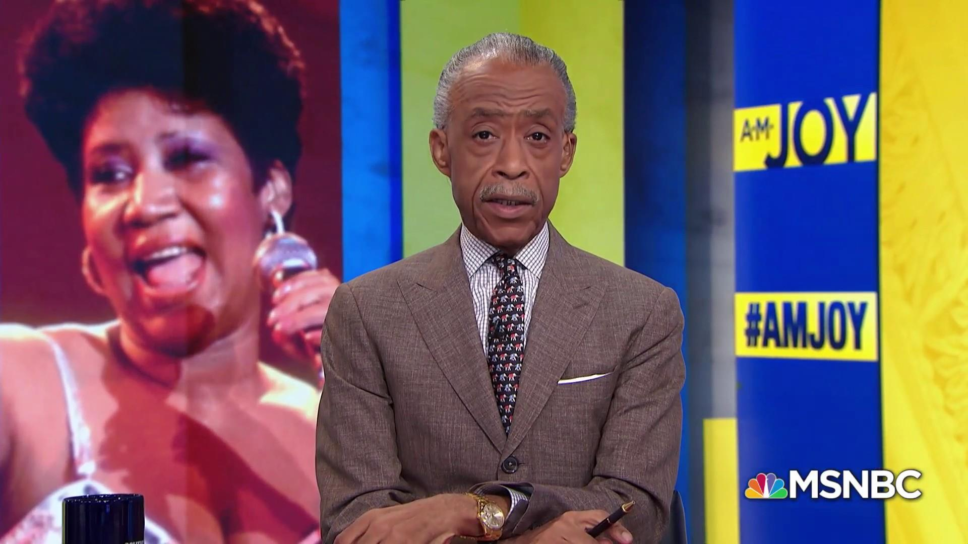 The Rev. Al Sharpton remembers Aretha Franklin