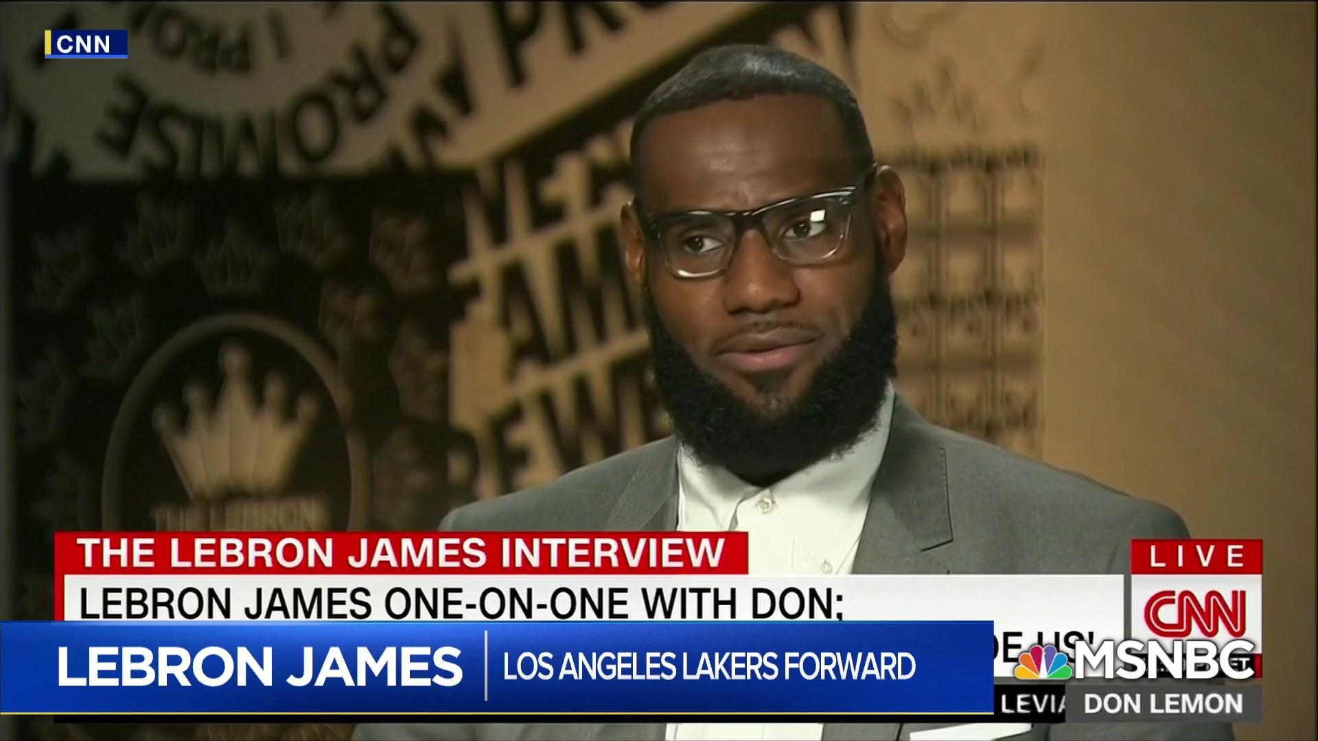 Terence Moore: LeBron James will not be intimidated by Trump