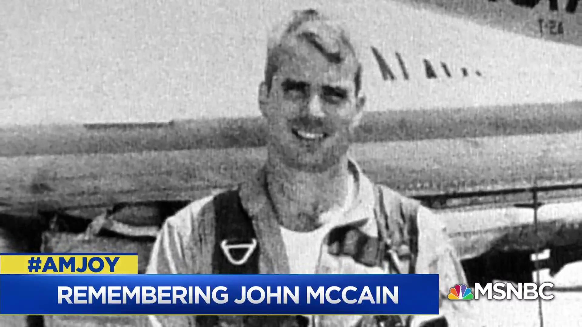 Malcolm Nance: John McCain was a giant, not just in U.S. Navy