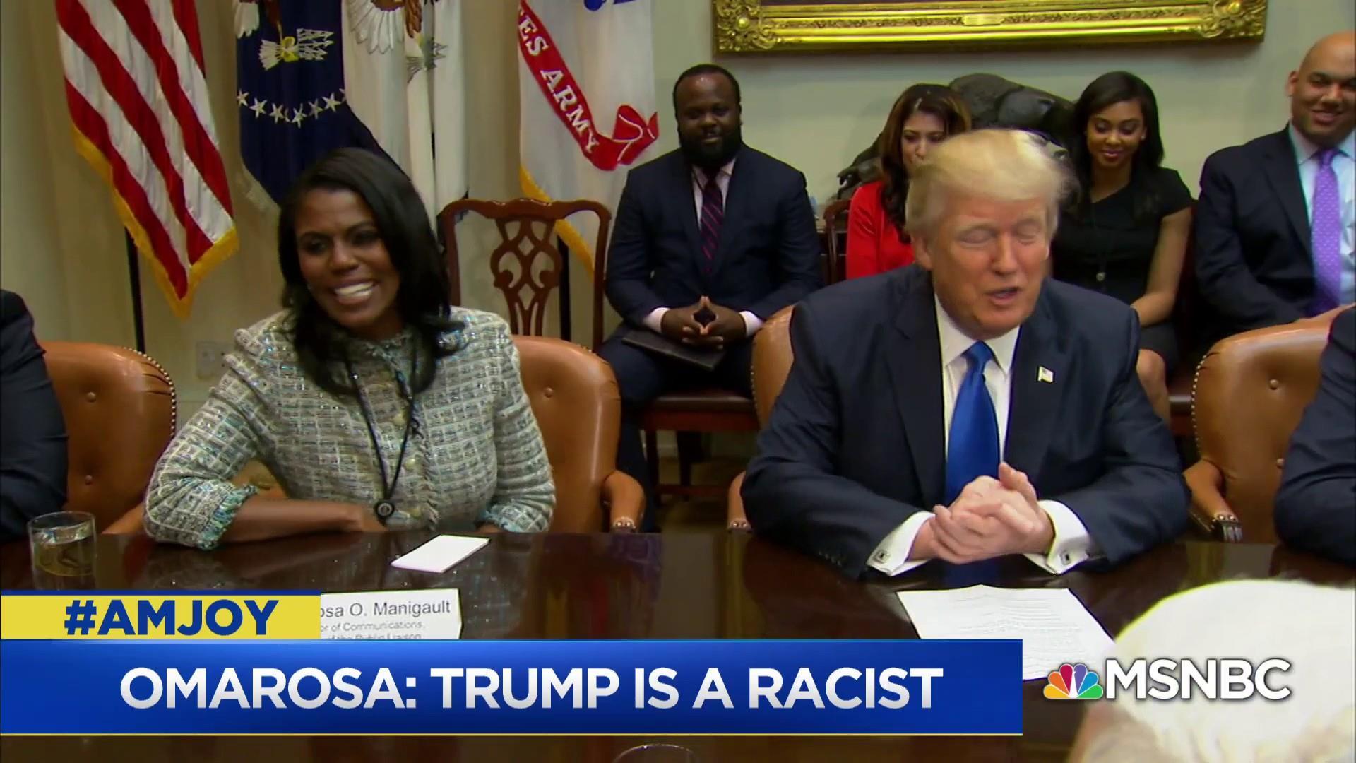 Should Omarosa have left the White House sooner?