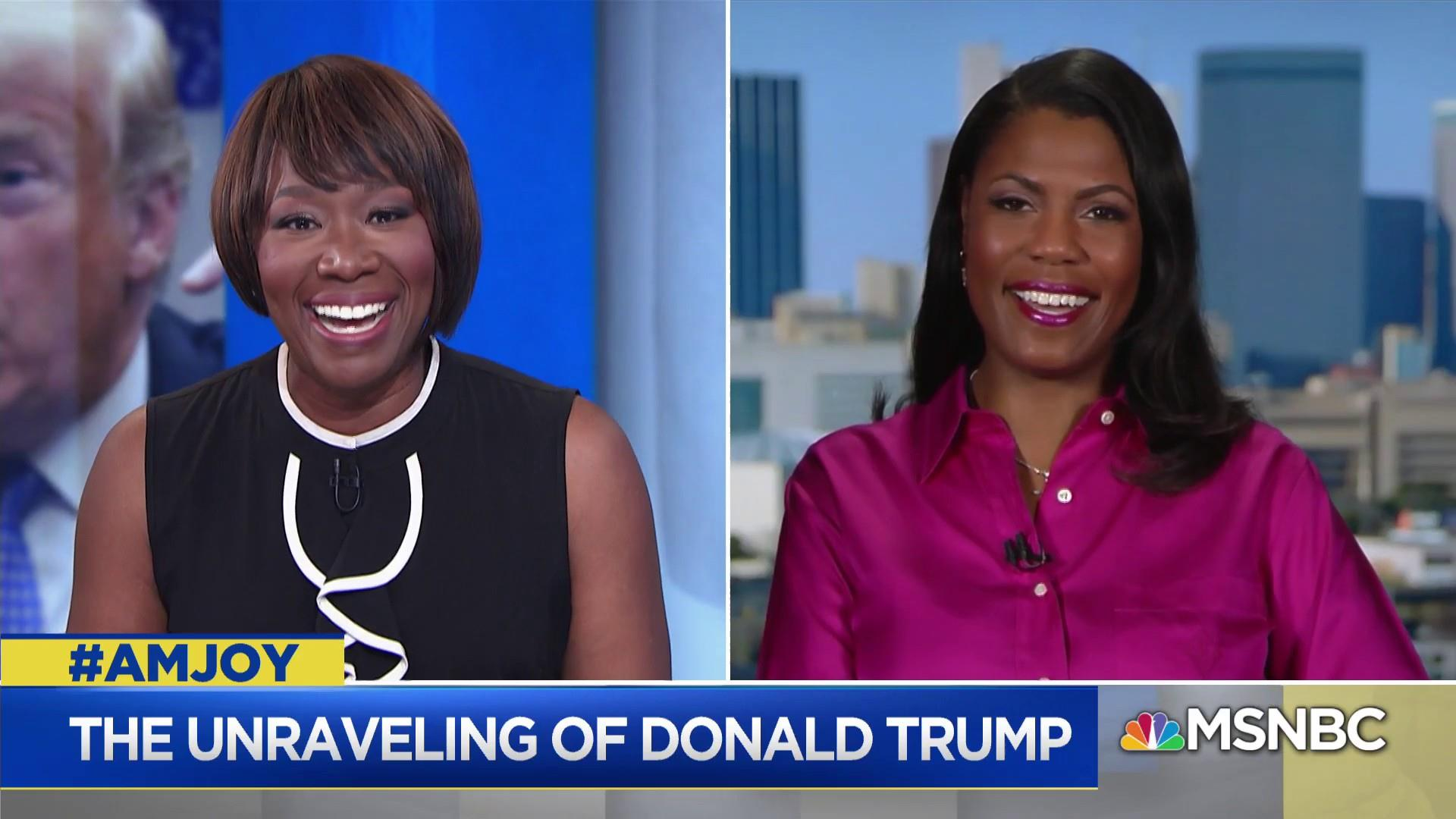 Omarosa: Trump is trying to use his limited intellect to fool people