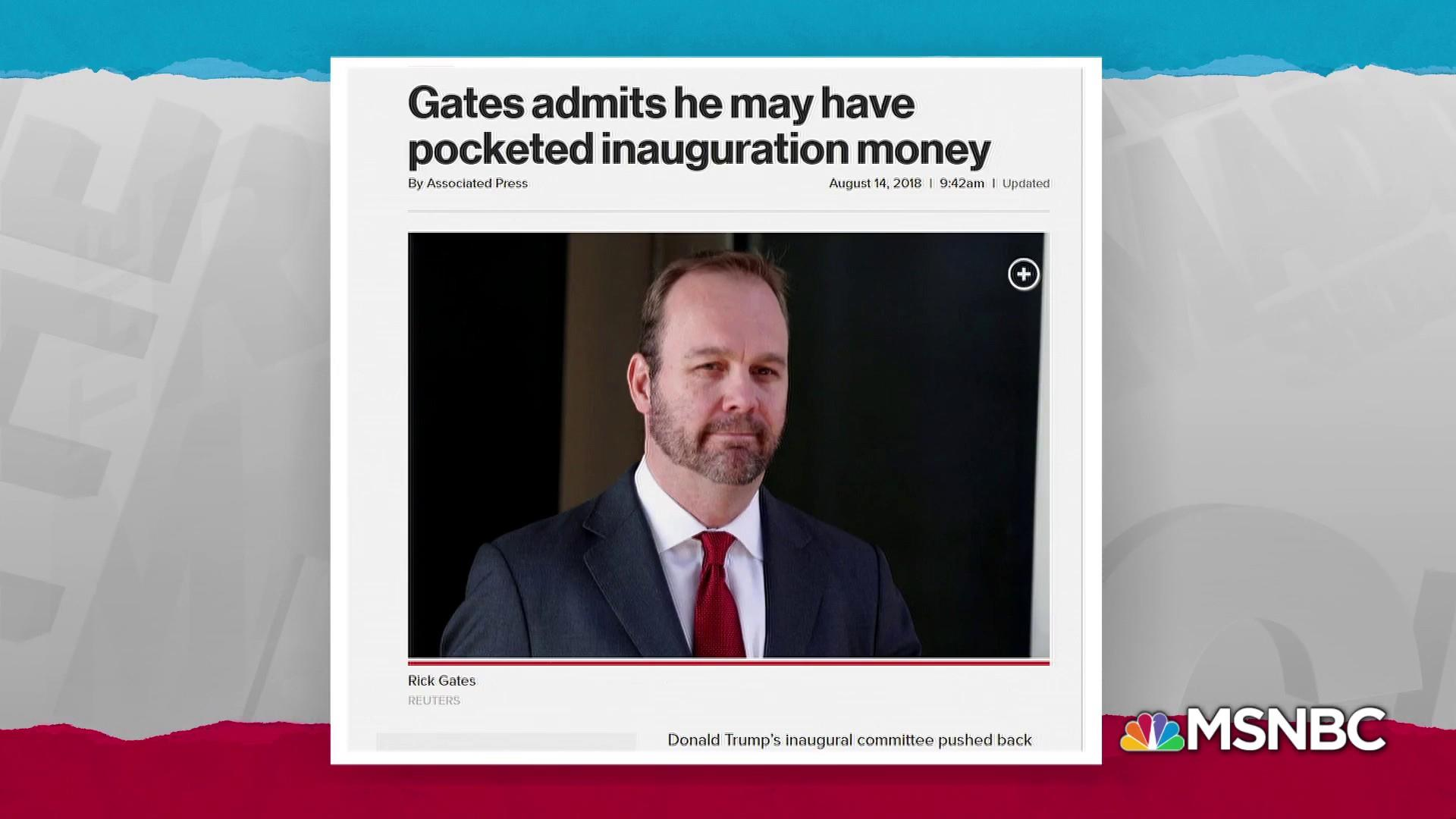 Gates may have answers to Trump inauguration money mystery
