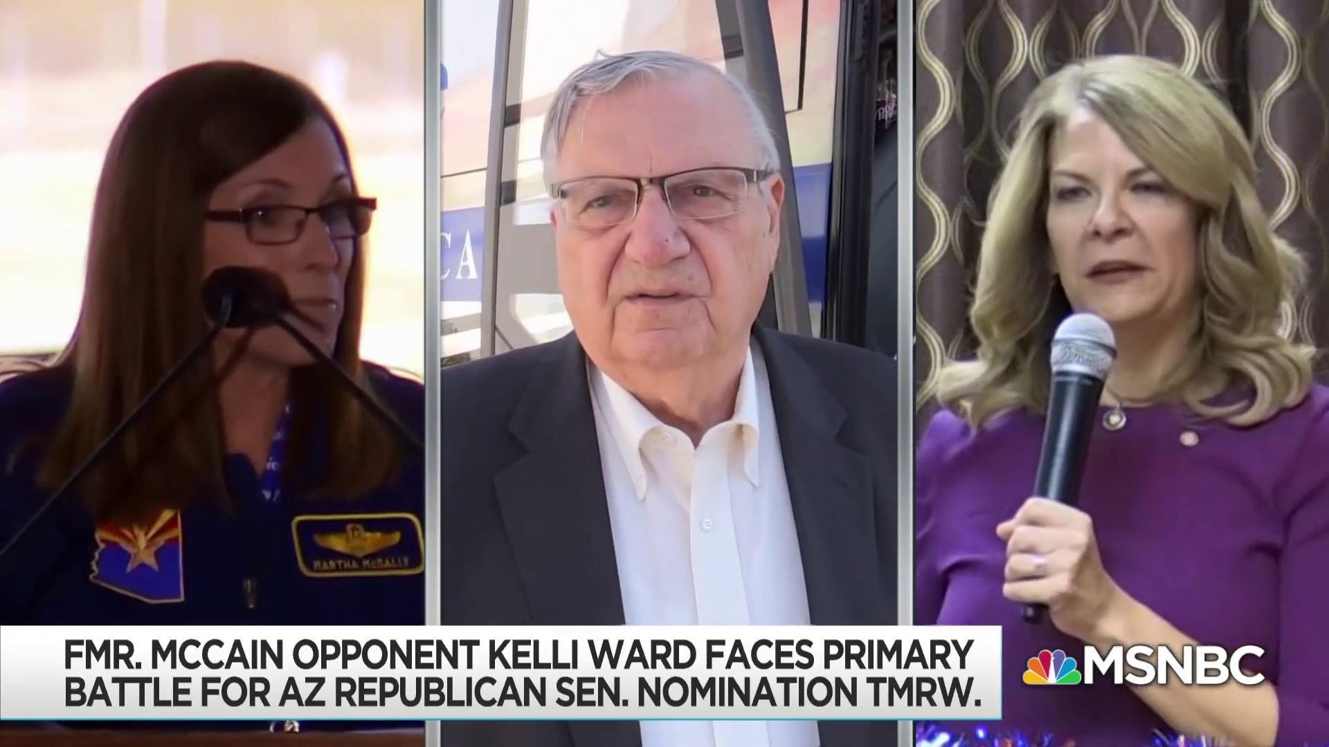 Arizona primary voters look to replace retiring Flake