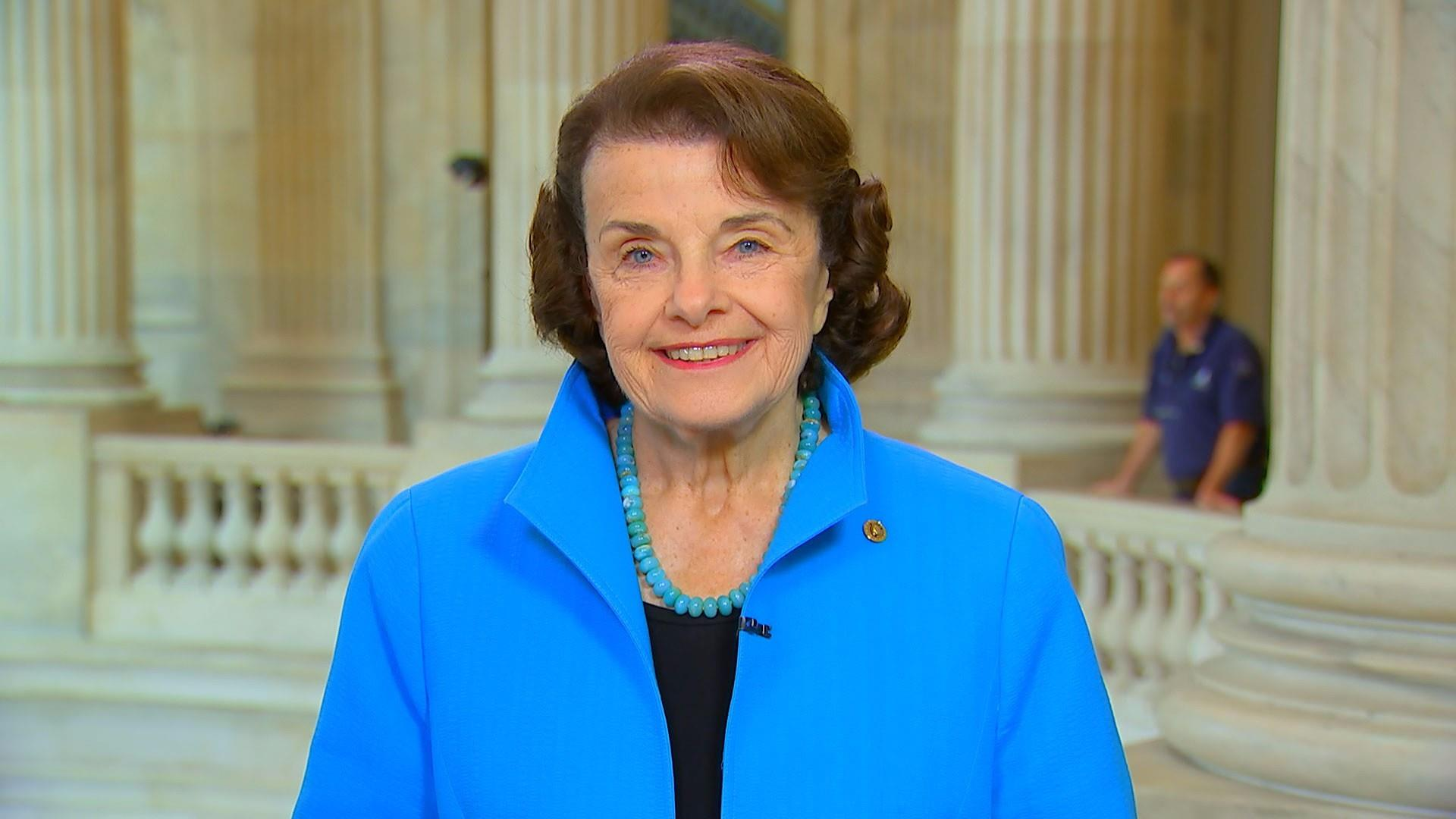 Sen. Feinstein: President Trump 'can't get over' Sessions recusal