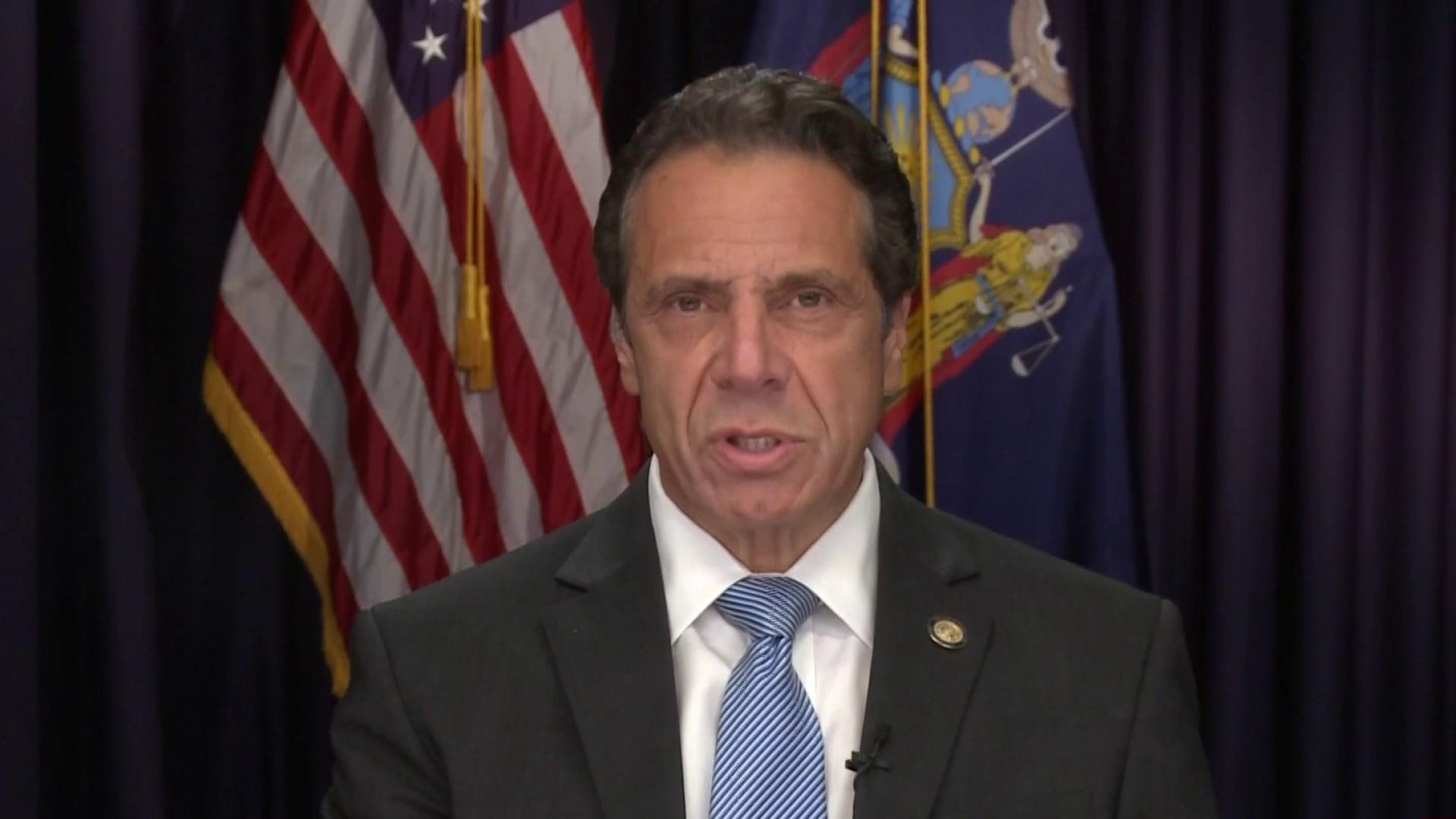 NY governor says state not blacklisting the NRA