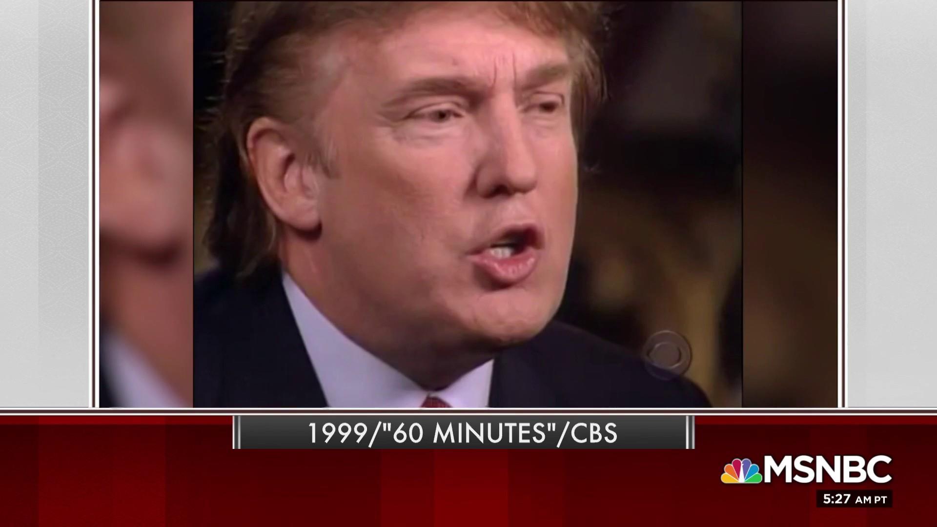 In 1999 clip, Trump wonders if McCain is a hero