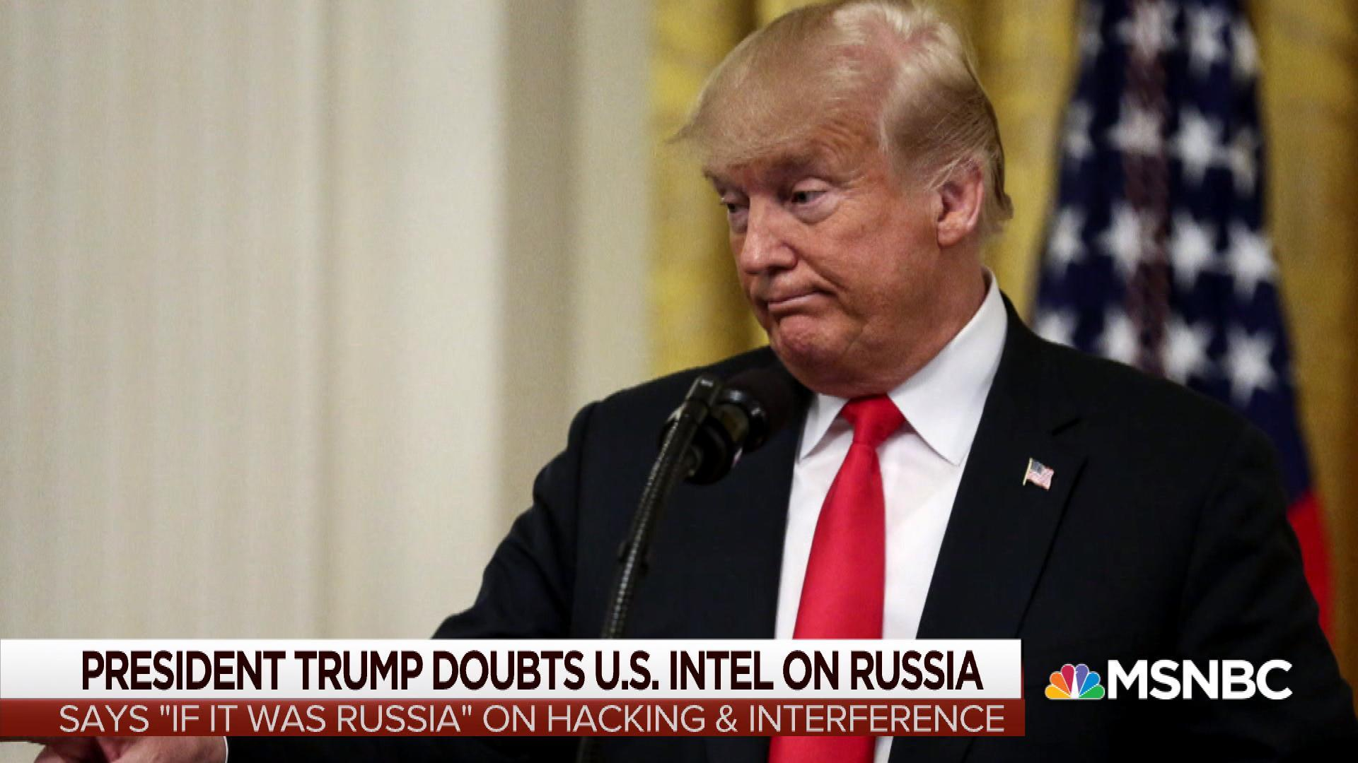 """Trump on Russia probe: """"I could run it if I want"""""""