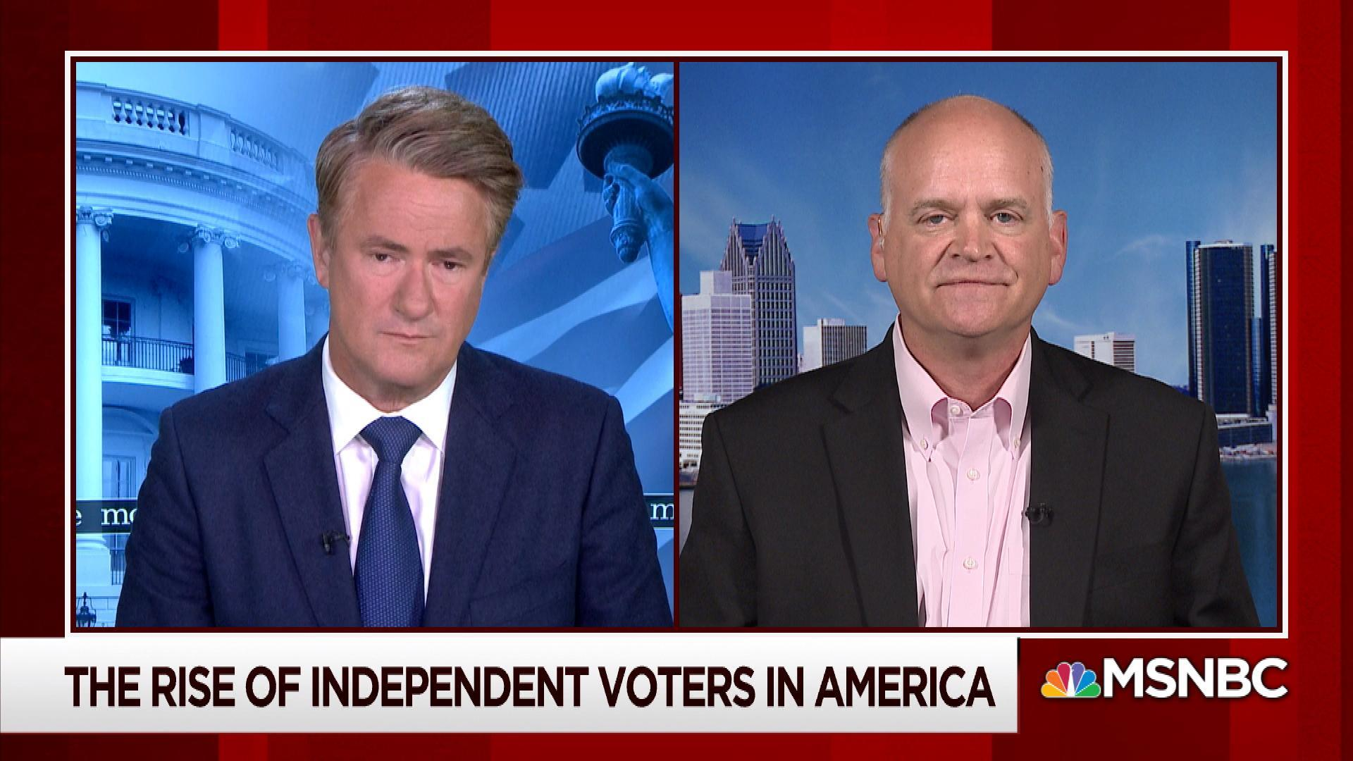 The rise of independent voters in America