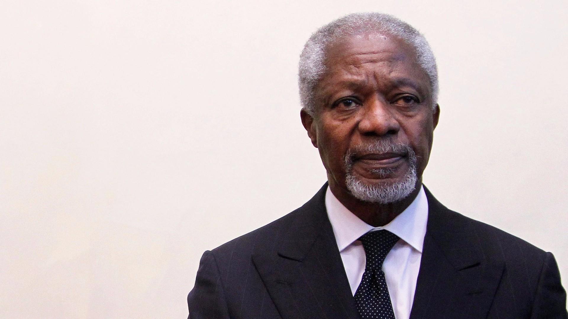 Fmr. United Nations Secretary-General Kofi Annan dies at age 80
