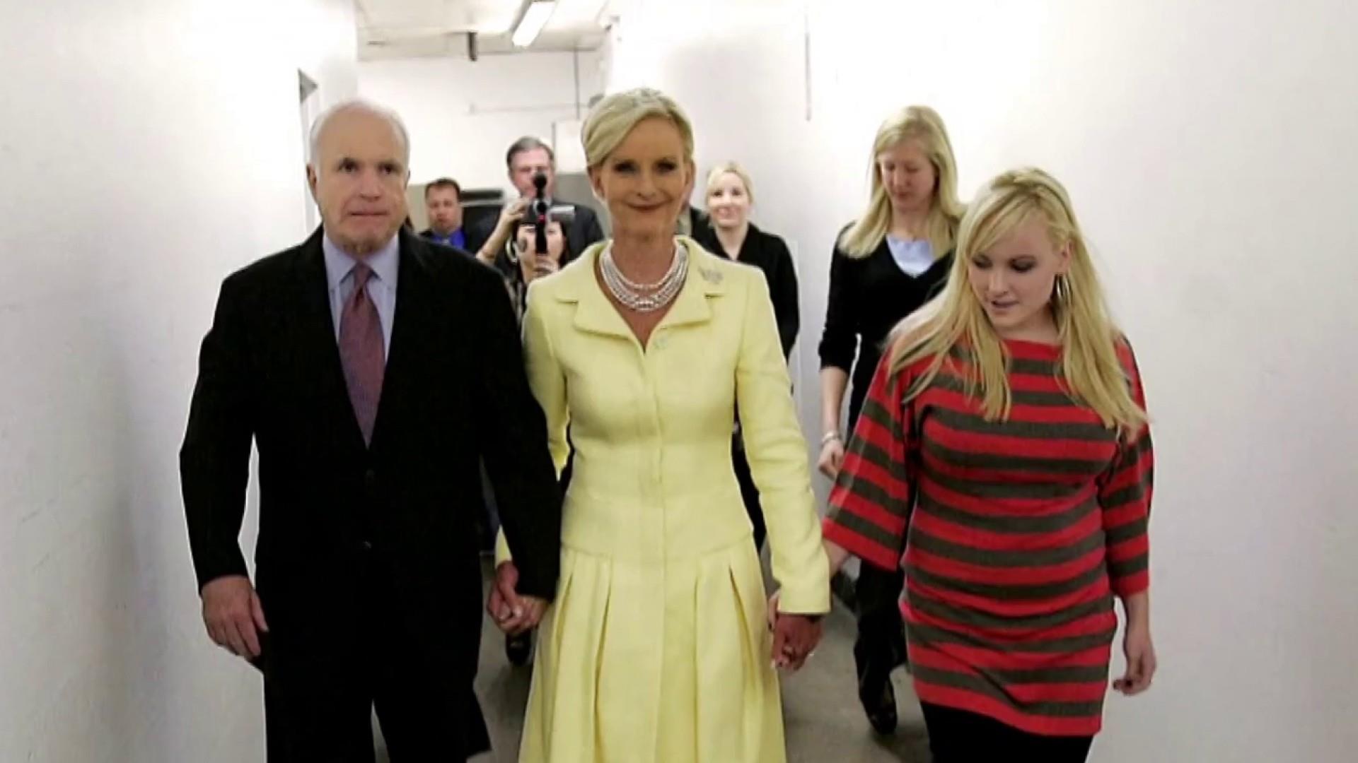 Meghan McCain remembers her father Sen. John McCain
