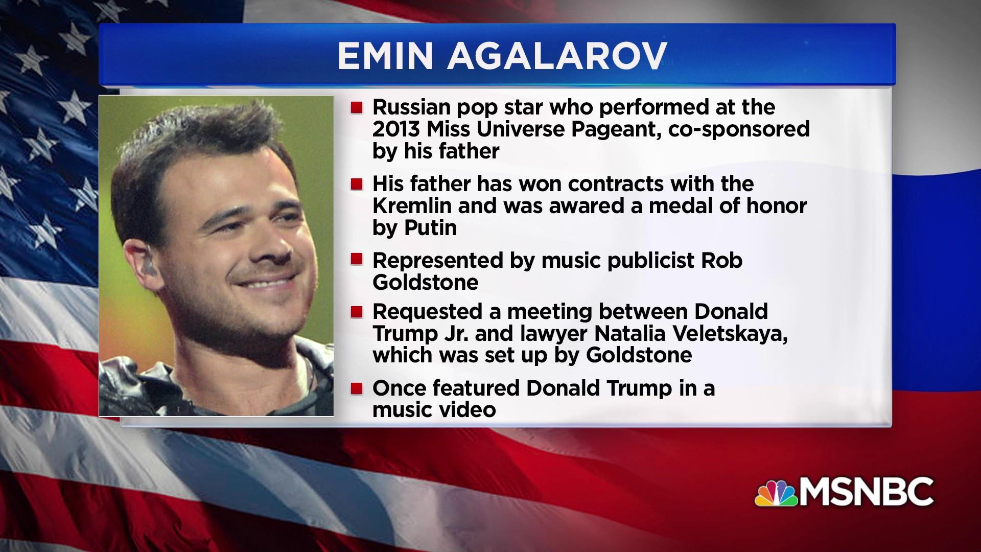 Lawyer: Mueller requests interview with Russian pop star who helped arrange Trump Tower meeting
