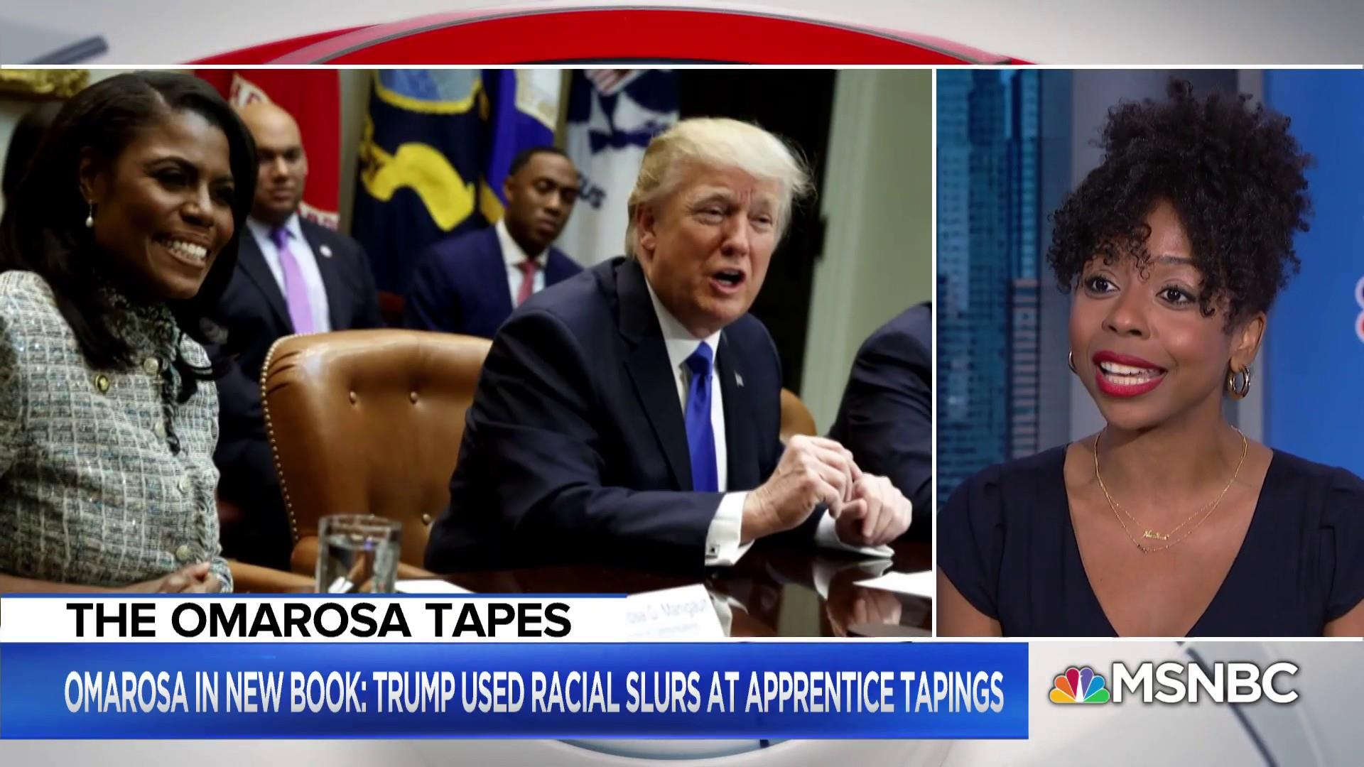 President Trump: Omarosa is a 'lowlife'