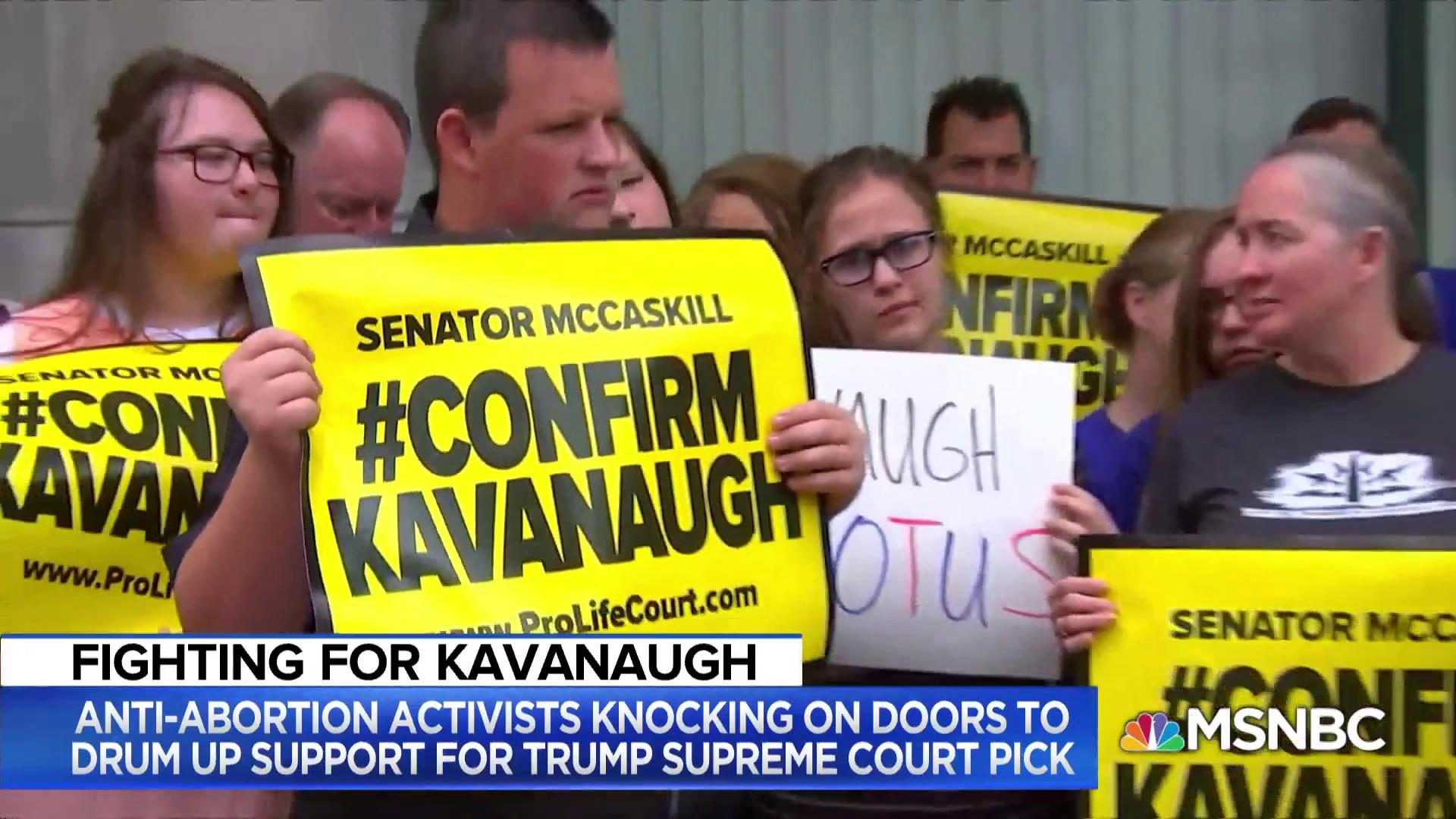 How conservative voters might affect Kavanaugh's confirmation