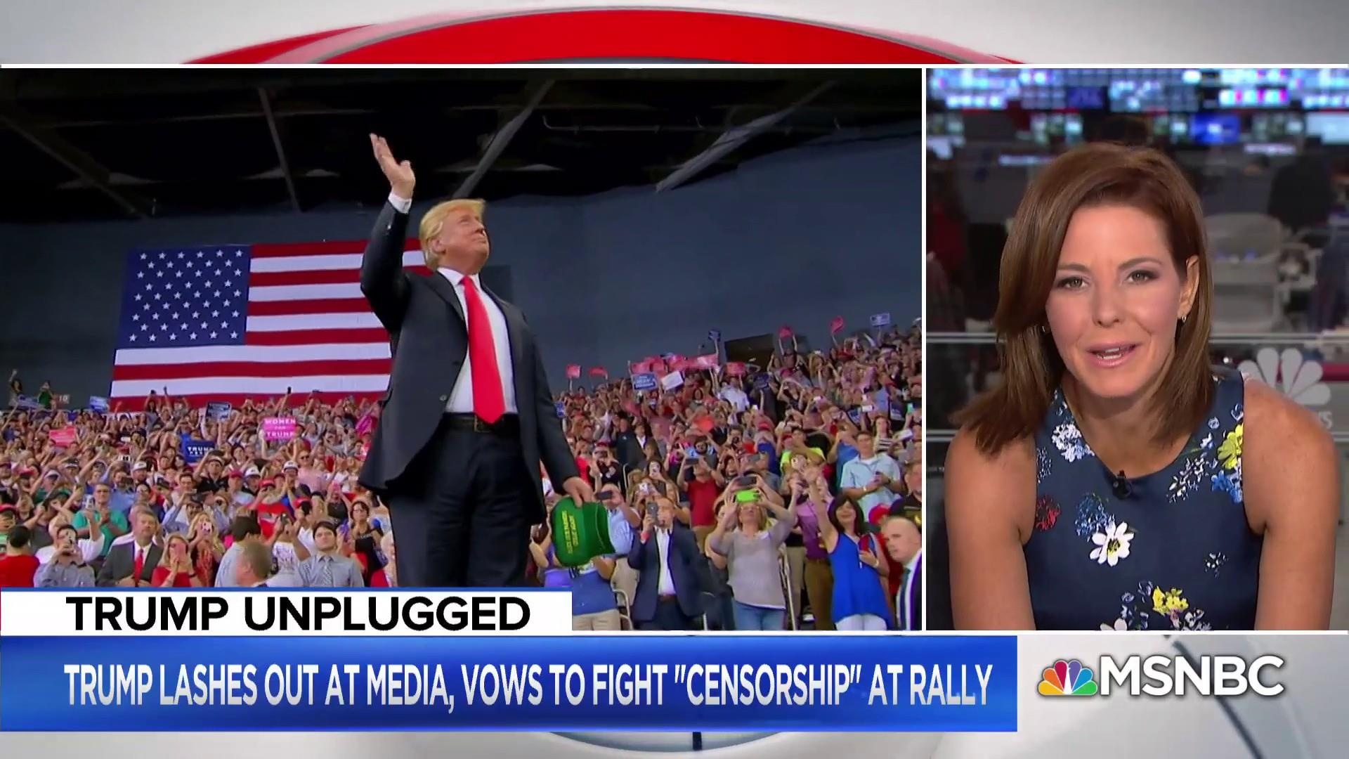 Reactions to Trump's rally, pay cuts to federal workers & Mueller